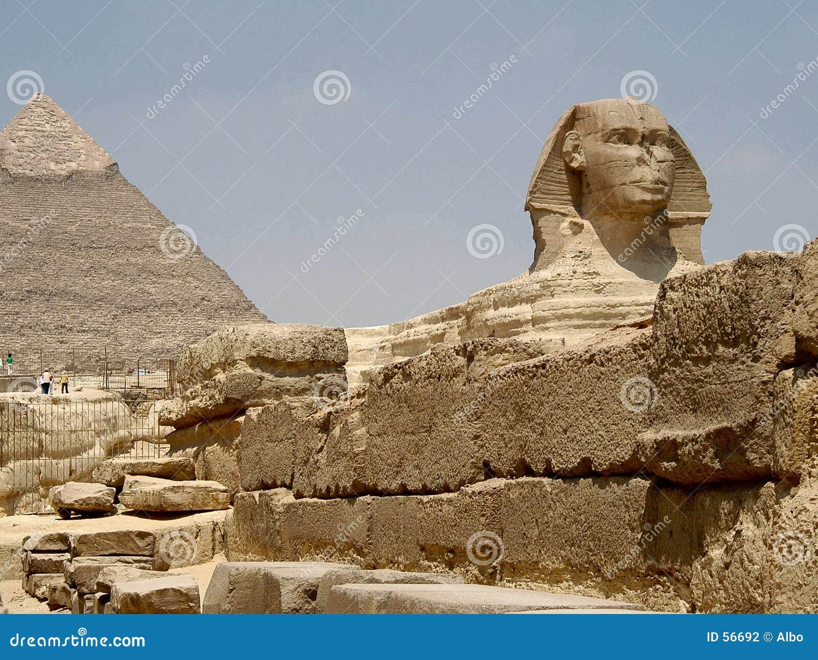 Download πυραμίδα sphynx στοκ εικόνες. εικόνα από βασιλιάς, πυραμίδα - 56692