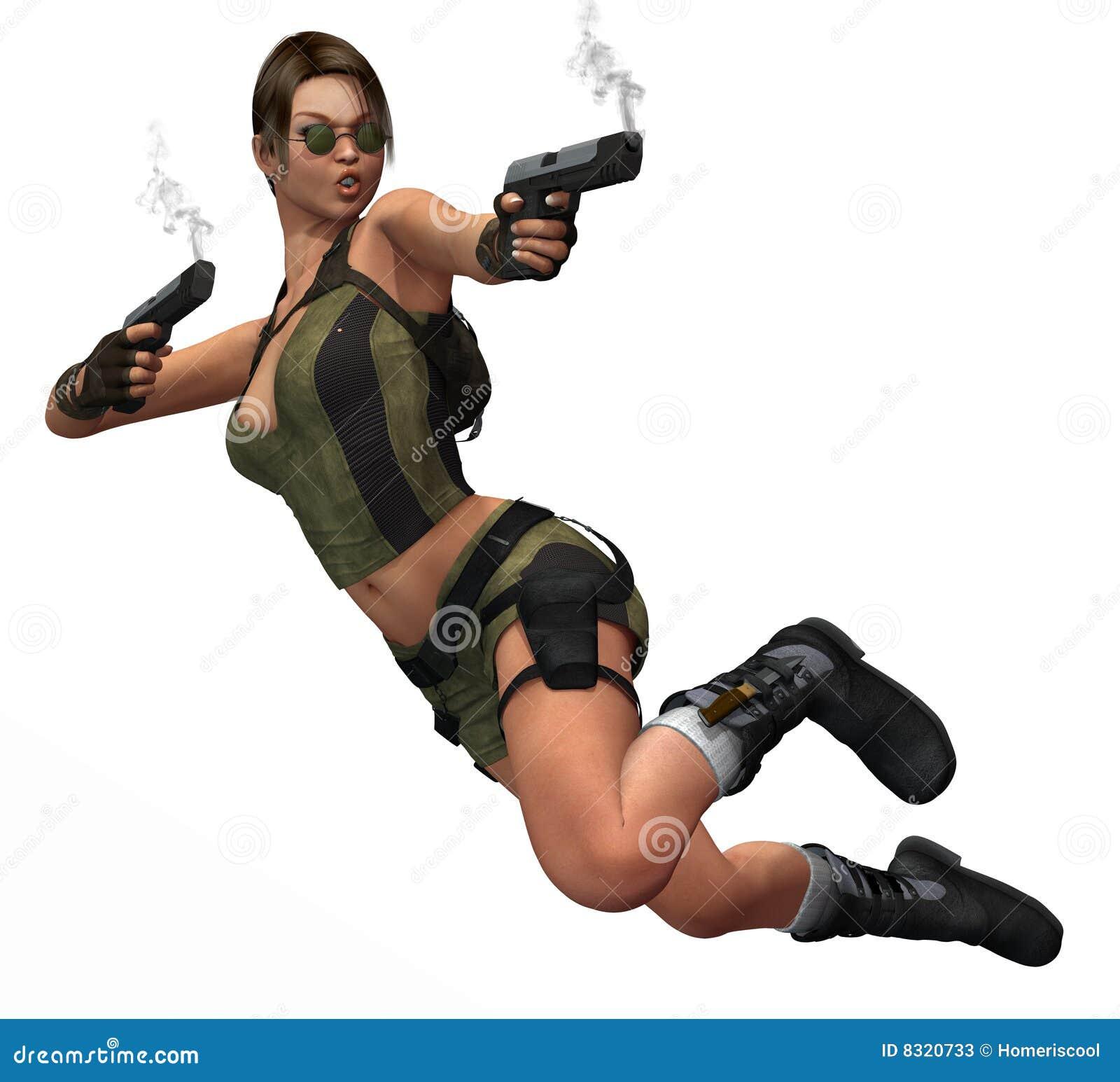 πυροβόλα όπλα που πηδούν τ