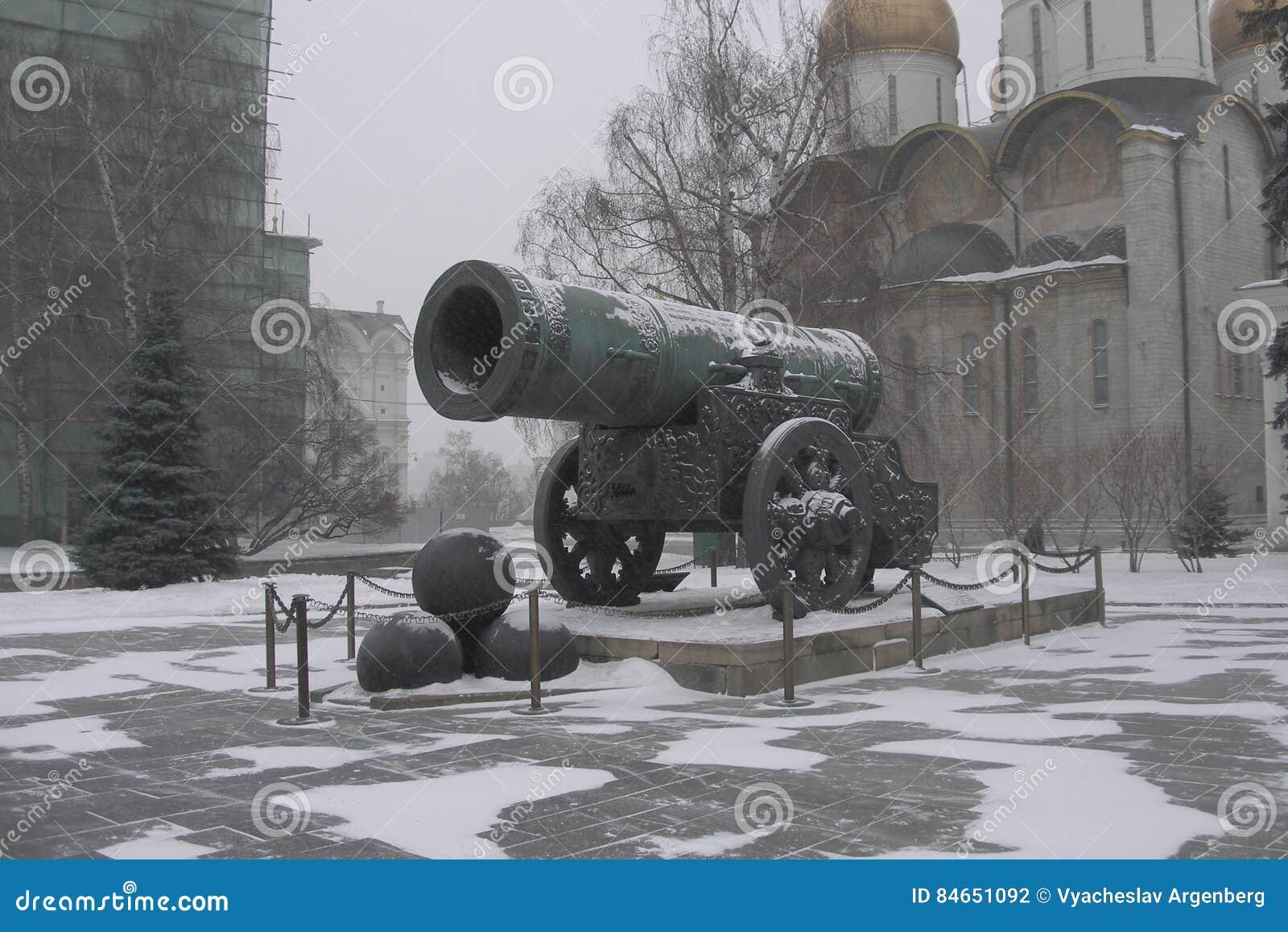 Πυροβόλο τσάρων στη Μόσχα