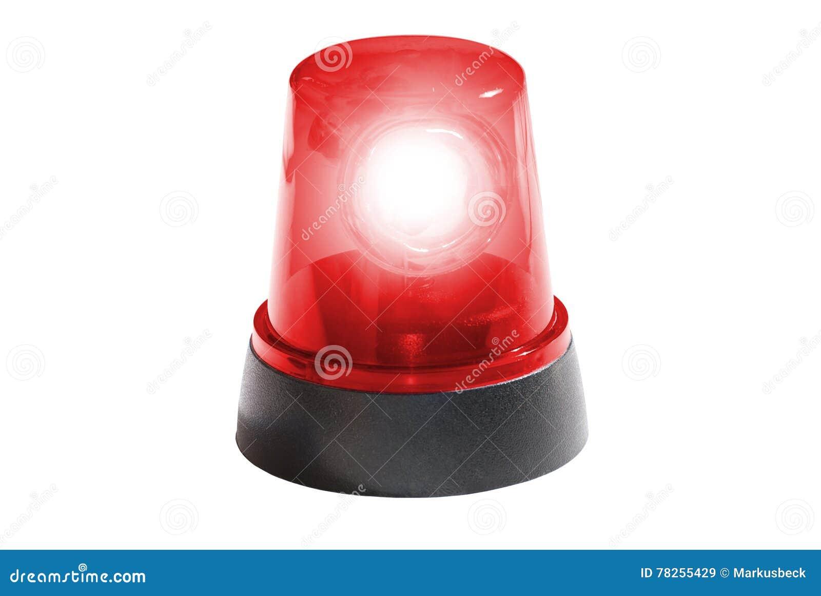Πυροσβεστική υπηρεσία, κόκκινο φως που απομονώνεται