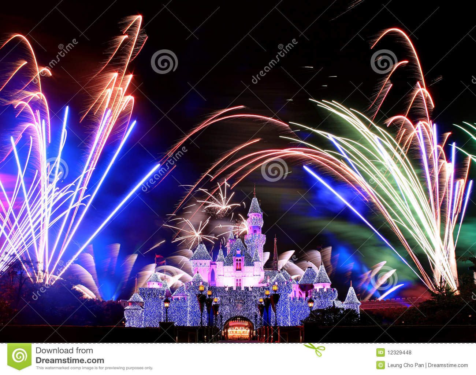 Πυροτεχνήματα Disneyland