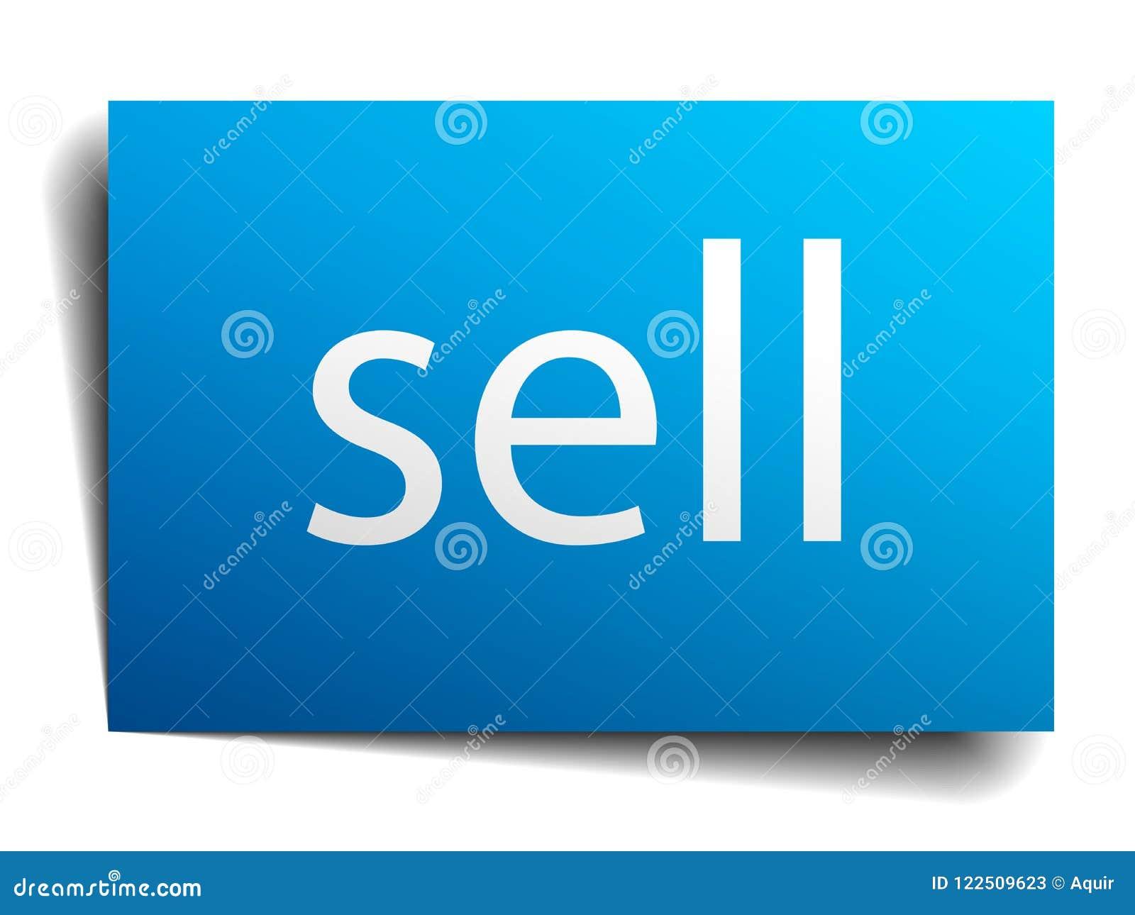 πωλήστε το σημάδι