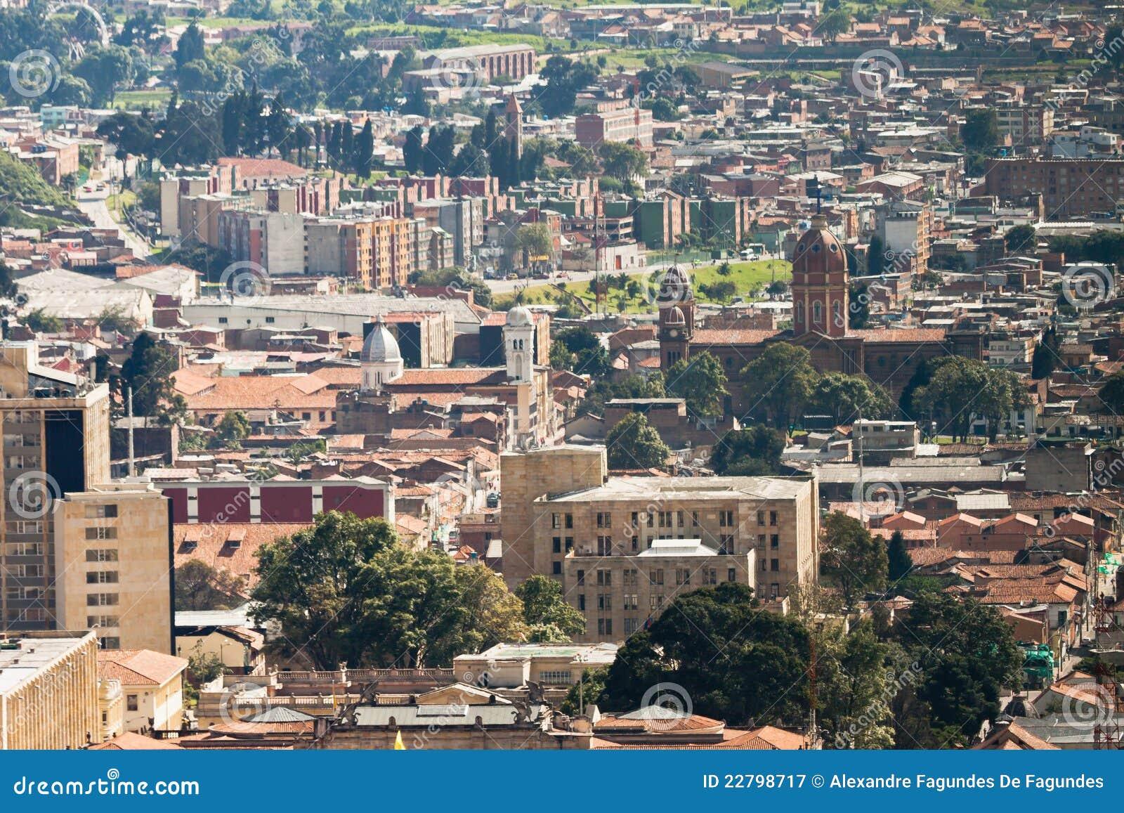 πόλη Κολομβία της Μπογκοτά