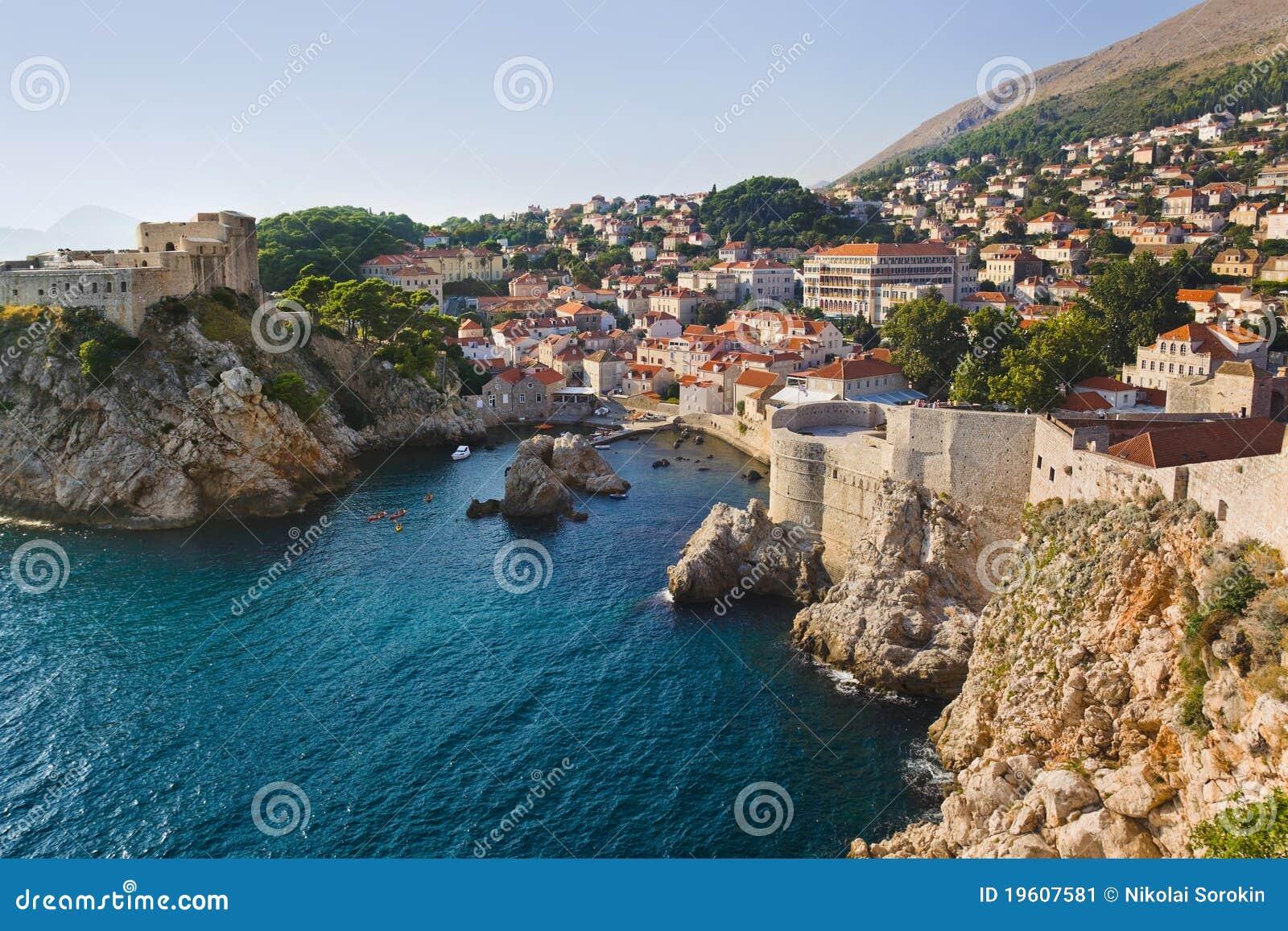 πόλη της Κροατίας dubrovnik