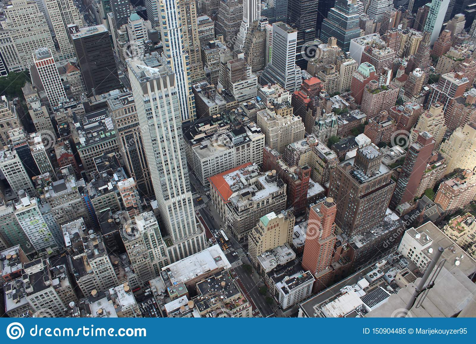Πόλη της Νέας Υόρκης άνωθεν