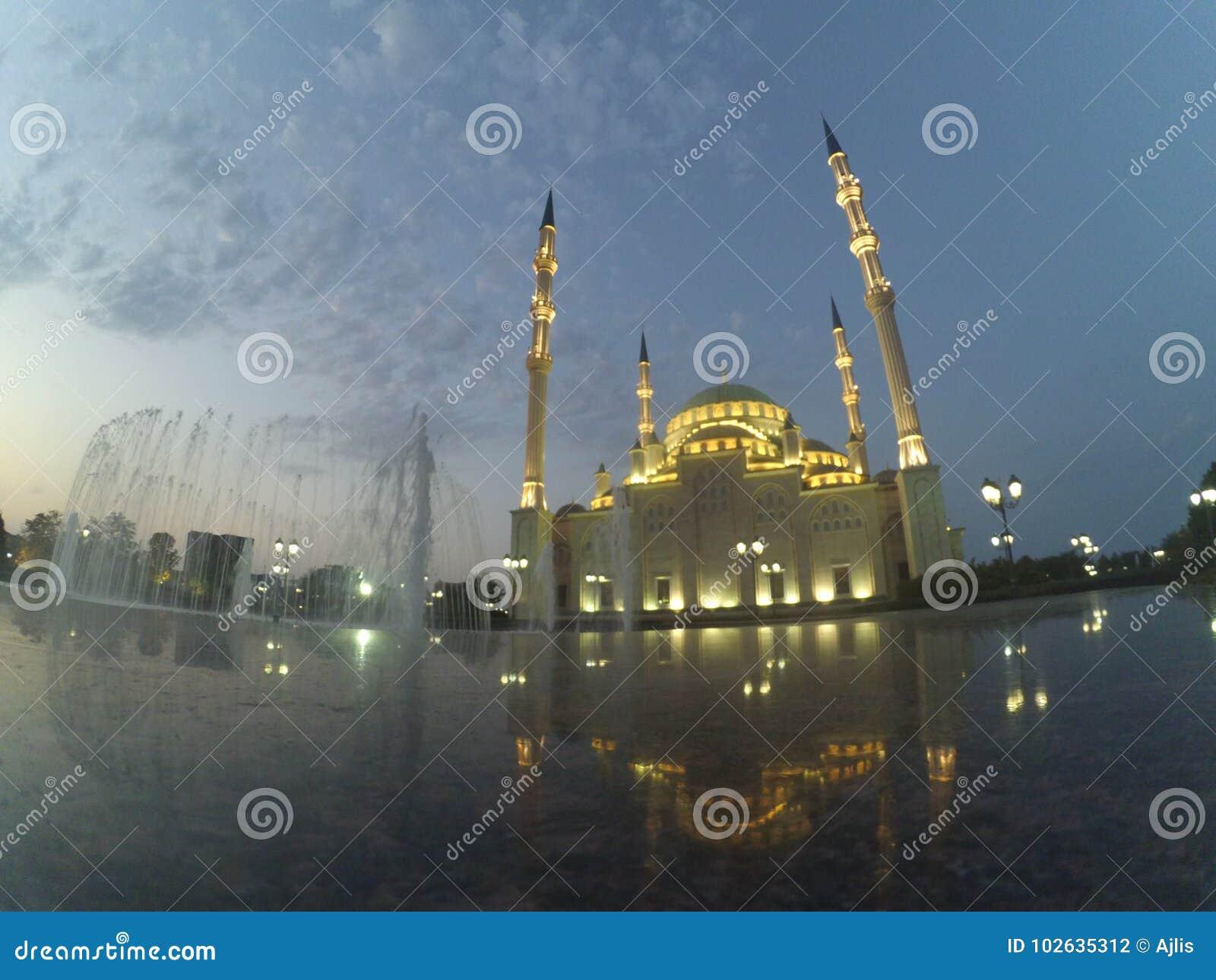 Πόλη του Γκρόζνυ σε Τσετσενία