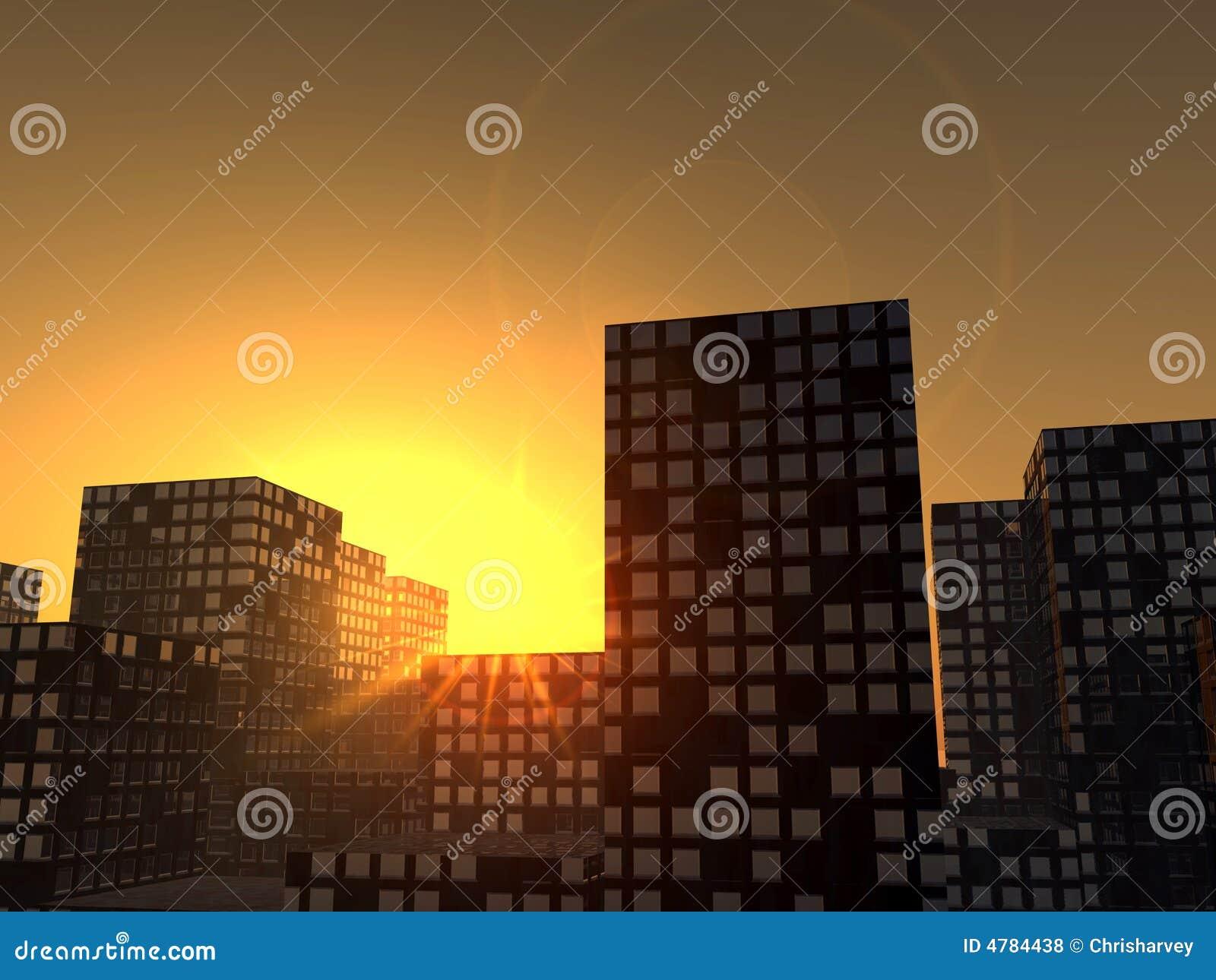Πόλη 7 ηλιοβασιλέματος