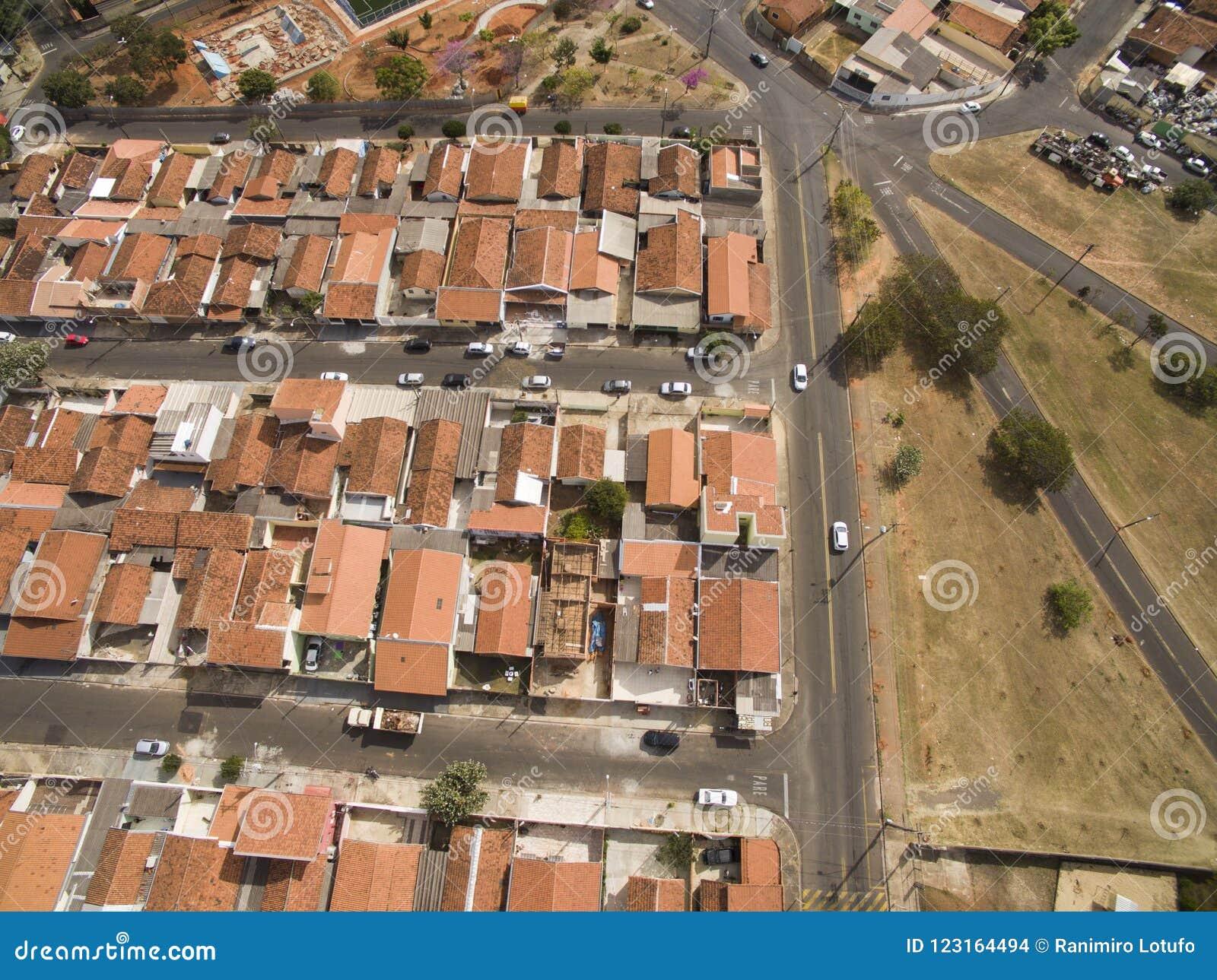Πόλη Botucatu στο Σάο Πάολο, Βραζιλία Νότια Αμερική