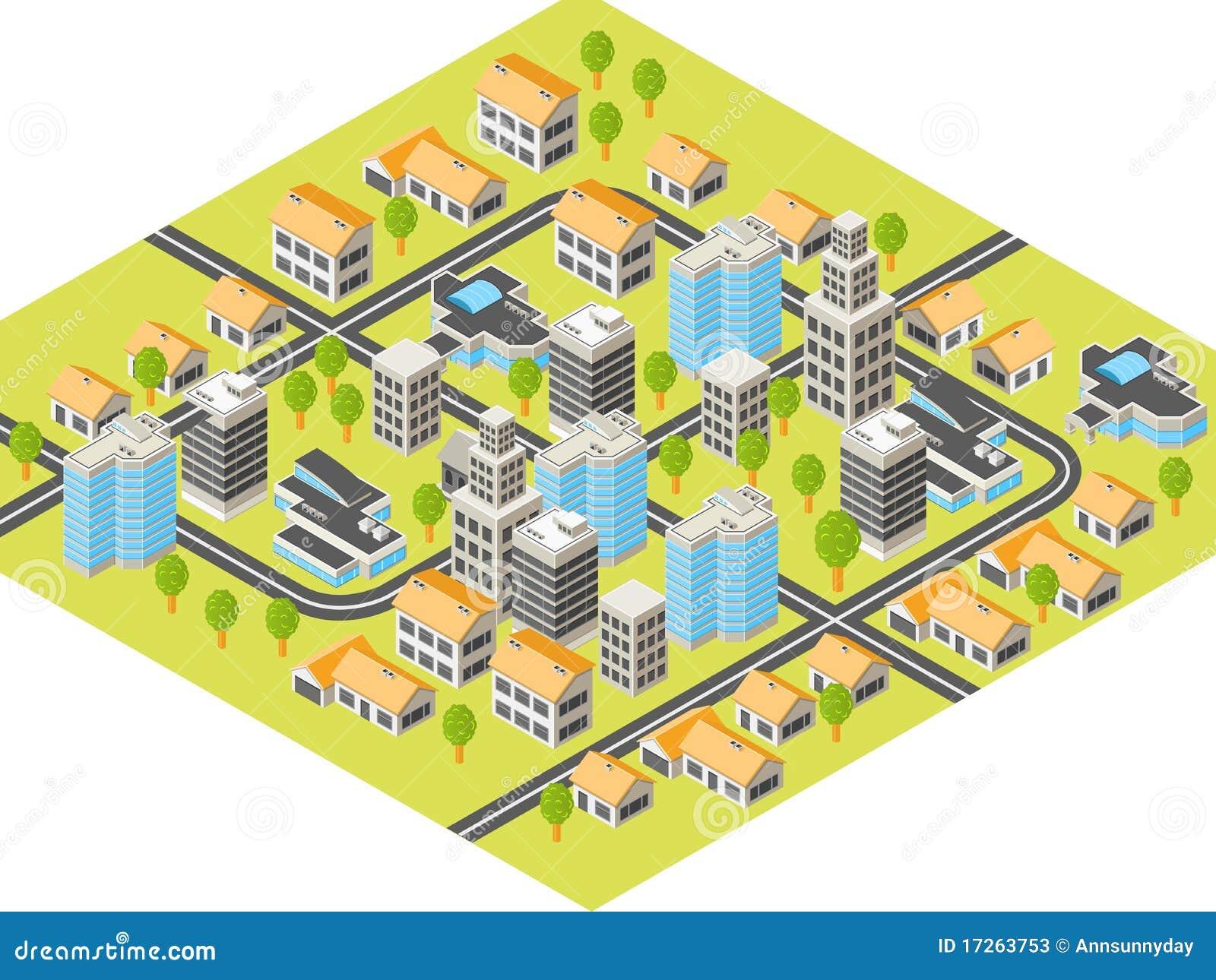 πόλη isometric