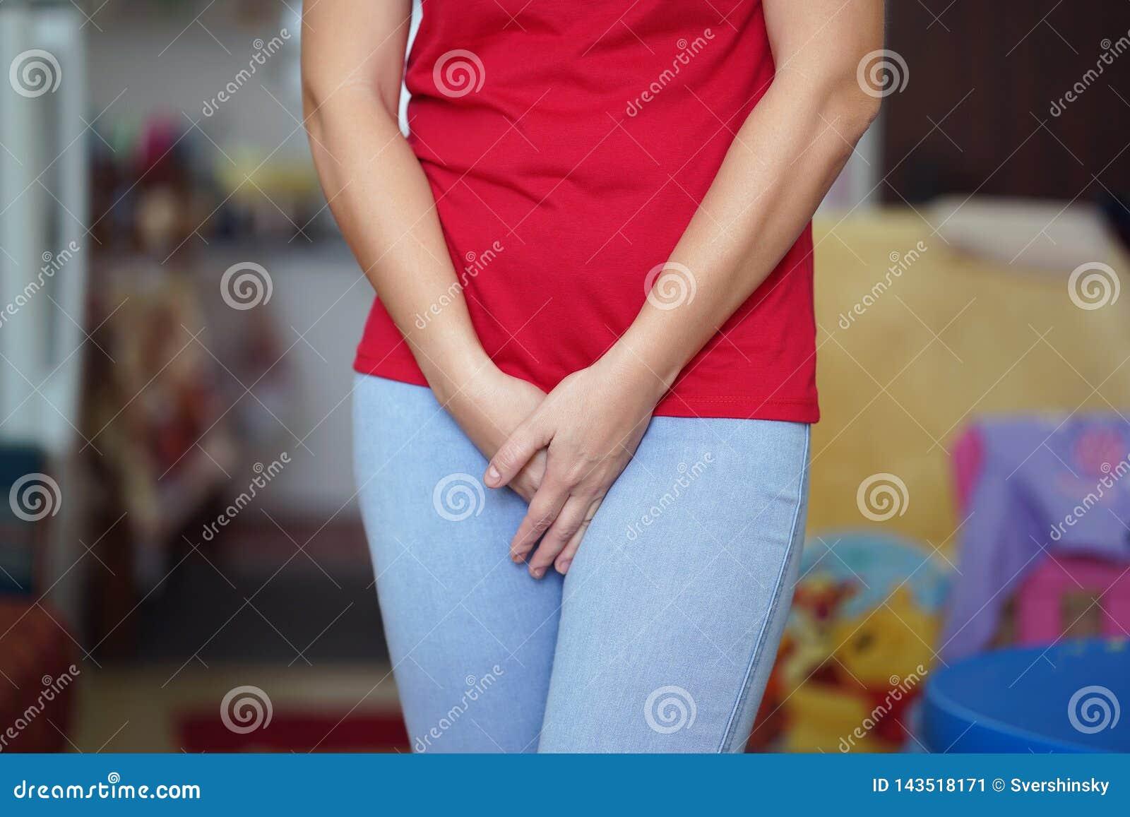 Πόνος κοριτσιών στο βουβώνα