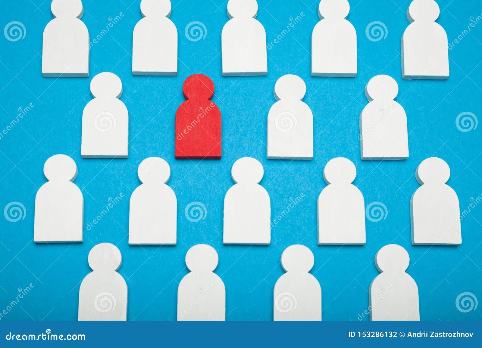 Πόρος ταλέντου, ανθρώπινος διευθυντής Βρείτε τον υπάλληλο στο γυαλί, έννοια