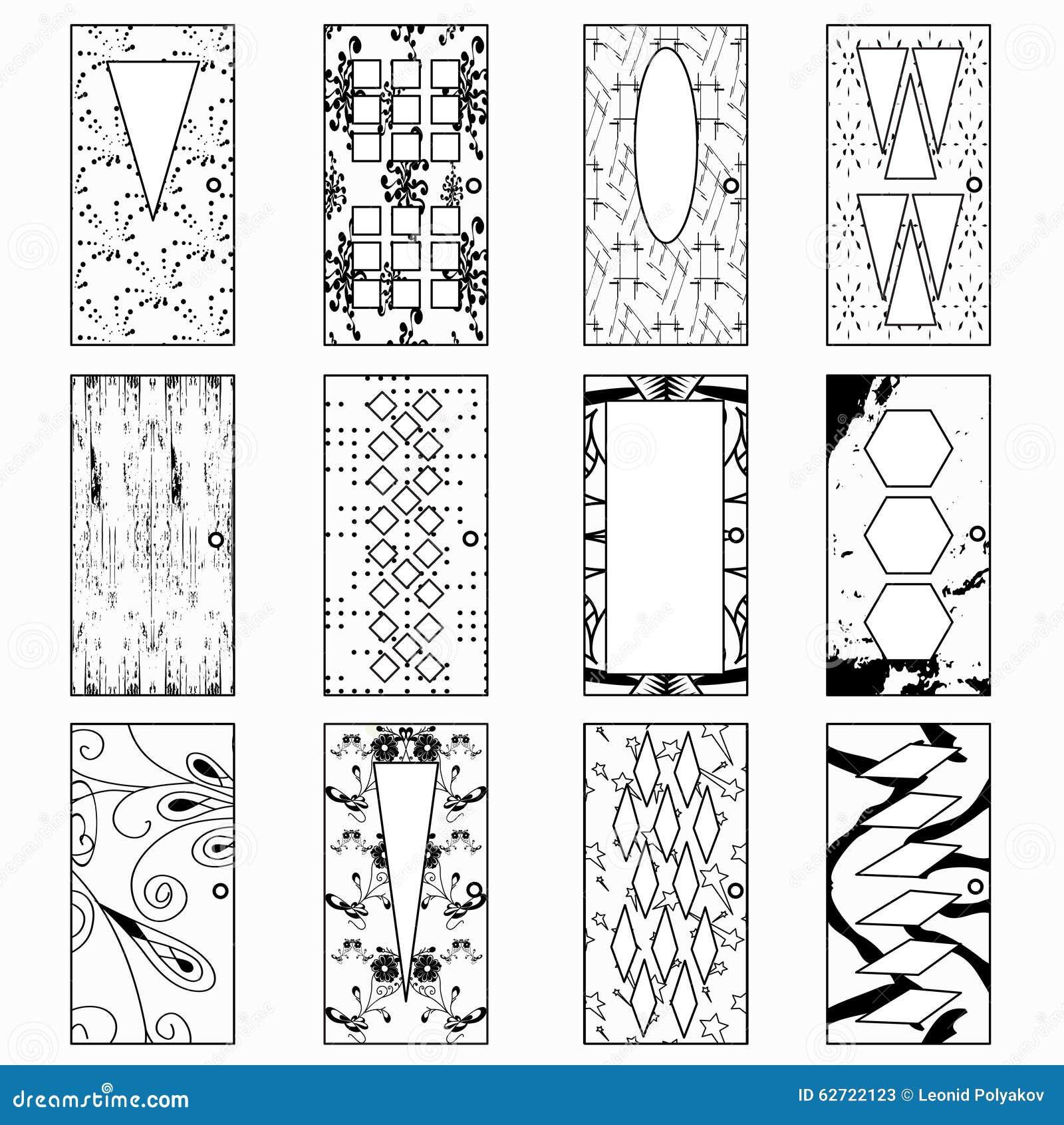 Πόρτες, μονοχρωματική διανυσματική απεικόνιση μιας συλλογής των συμβόλων
