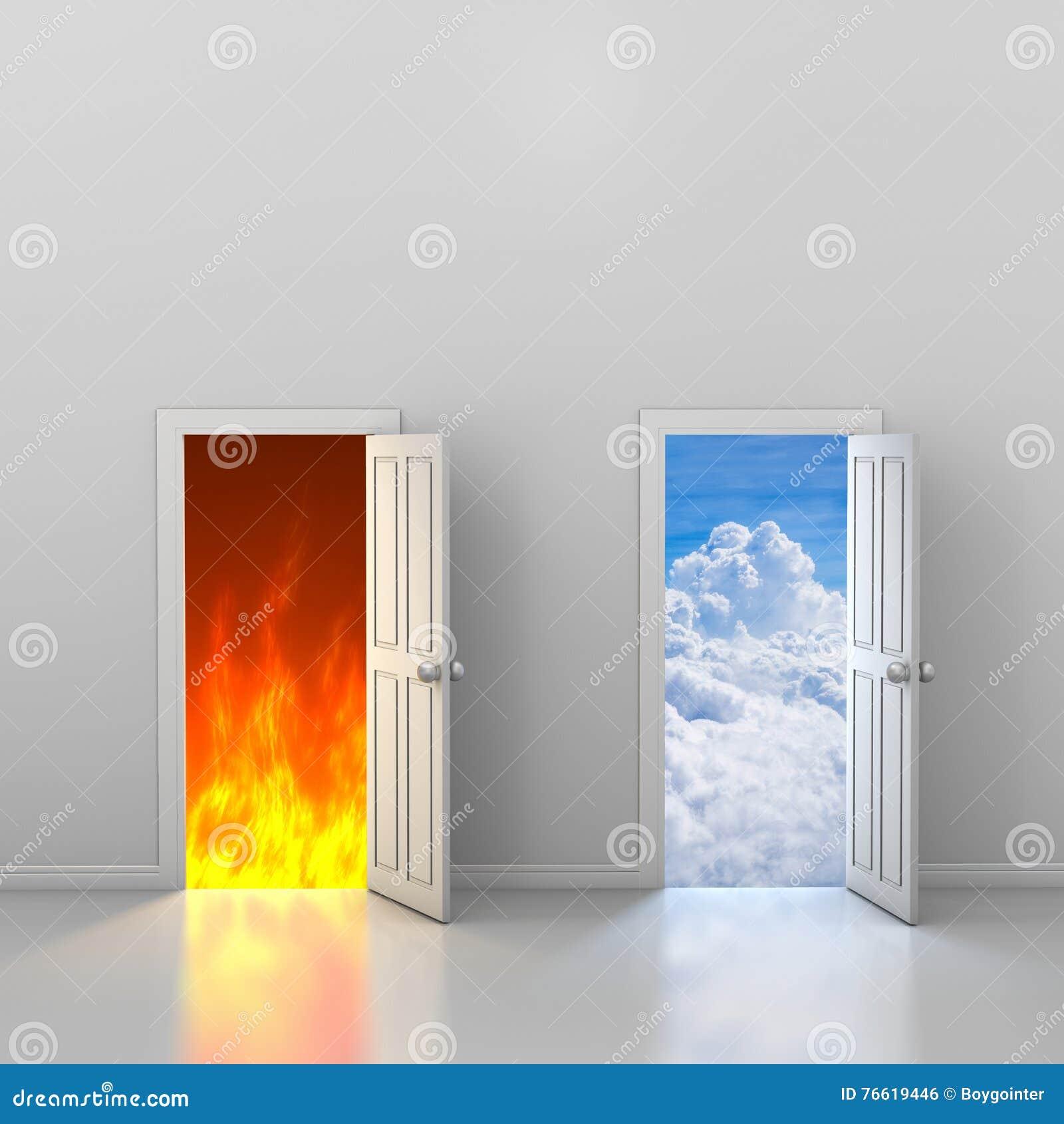 Πόρτες στον ουρανό και την κόλαση