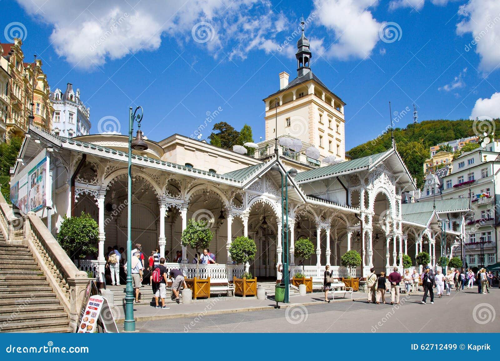 Πόλη Κάρλοβυ Βάρυ, Τσεχία, Ευρώπη SPA