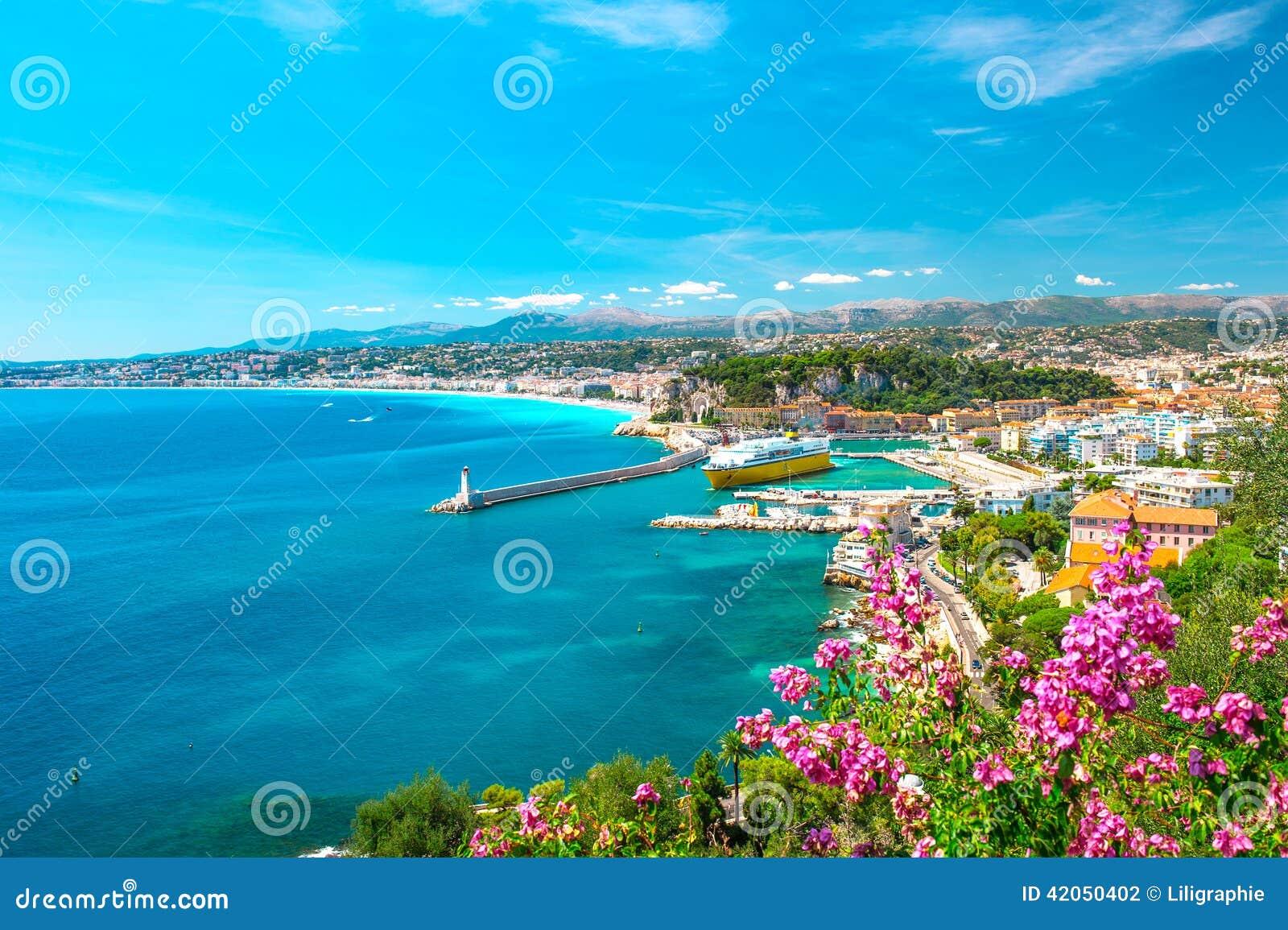 Πόλη της Νίκαιας, γαλλικό riviera, Μεσόγειος