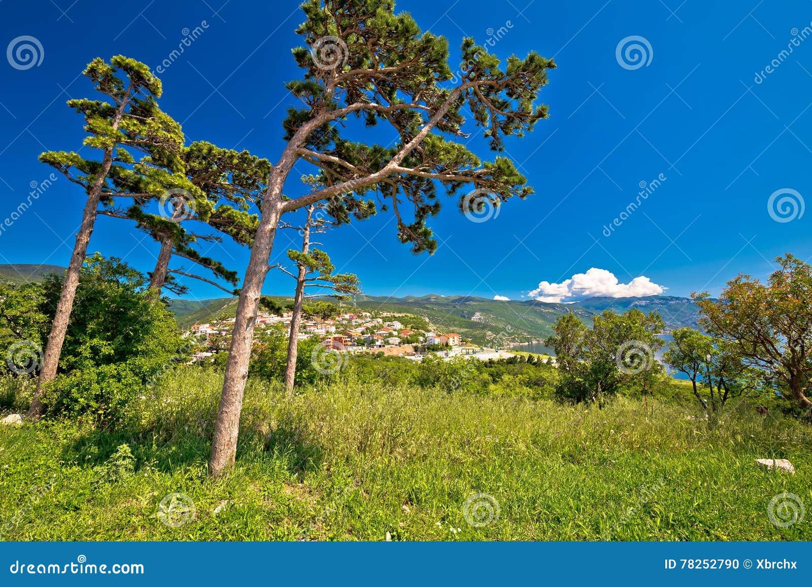 Πόλη της φύσης Senj και της άποψης ακτών