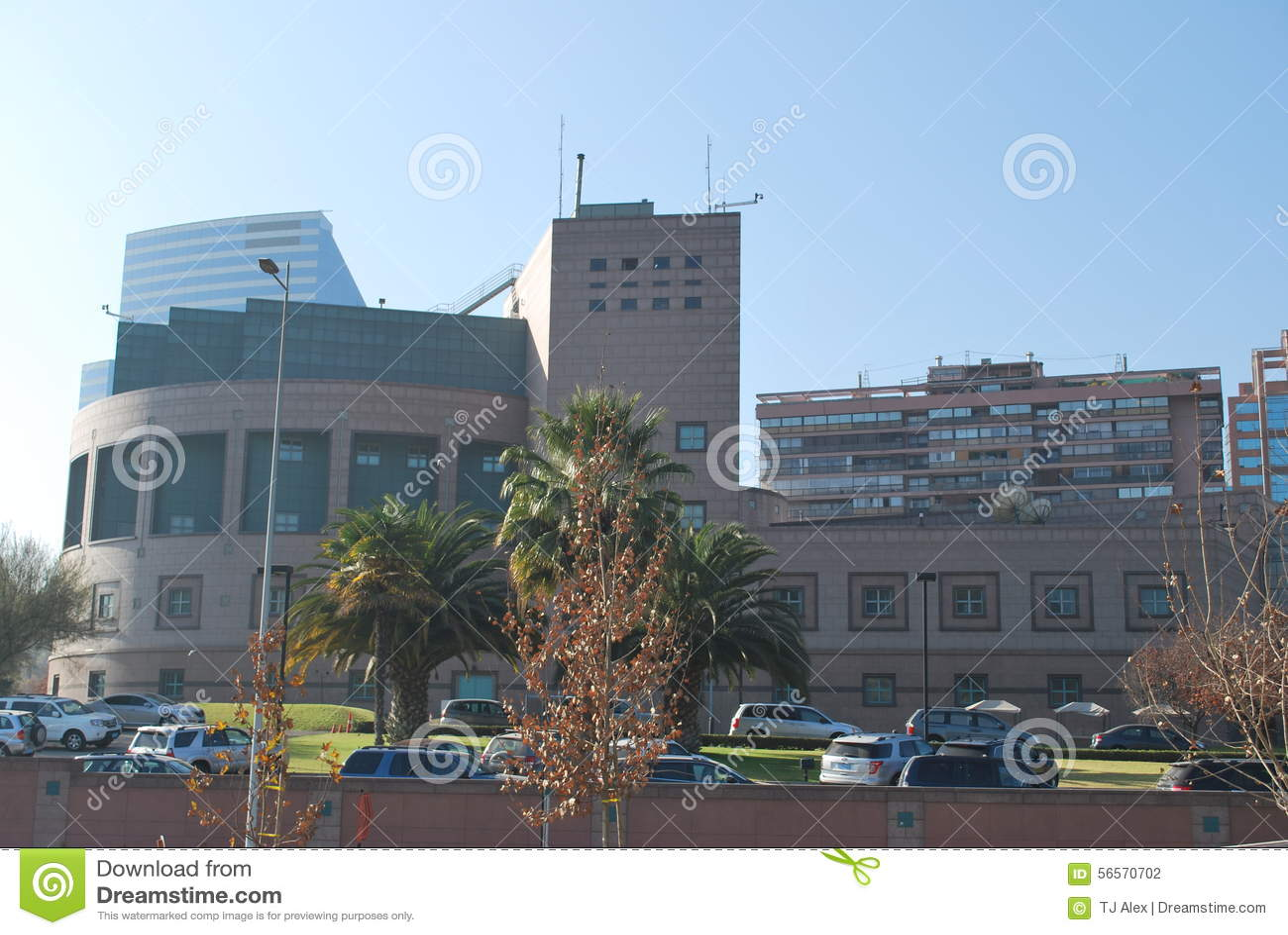 Download Πόλη του Σαντιάγο στη Χιλή στοκ εικόνες. εικόνα από τοπίο - 56570702