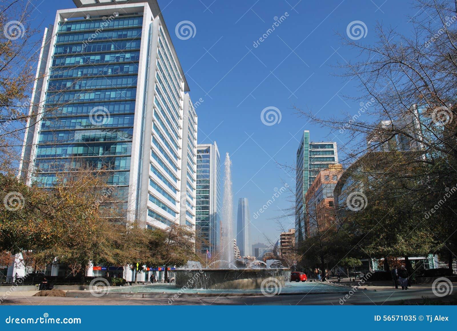 Download Πόλη του Σαντιάγο στη Χιλή στοκ εικόνα. εικόνα από σπίτια - 56571035