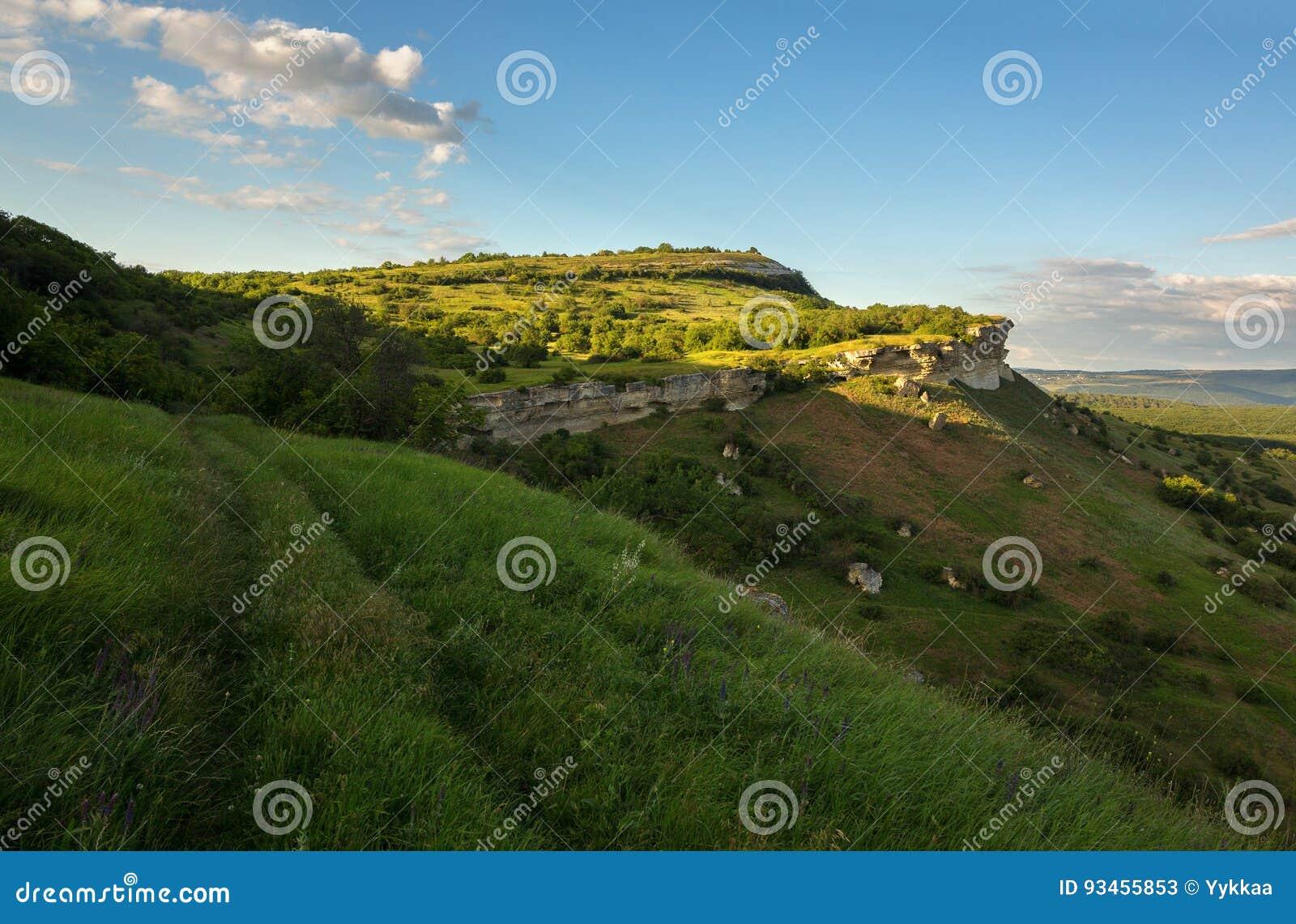 Πόλη Bakla σπηλιών σε Bakhchysarai Raion, Κριμαία