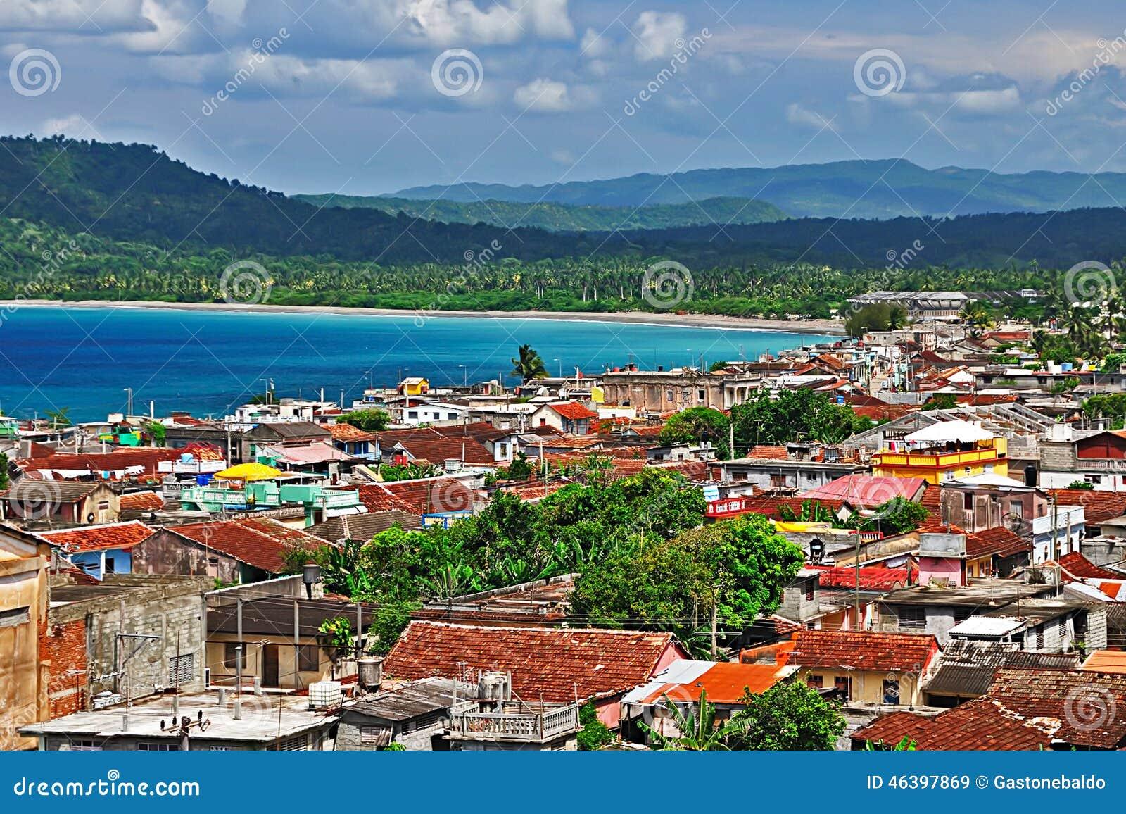 Πόλη Baracoa, Κούβα