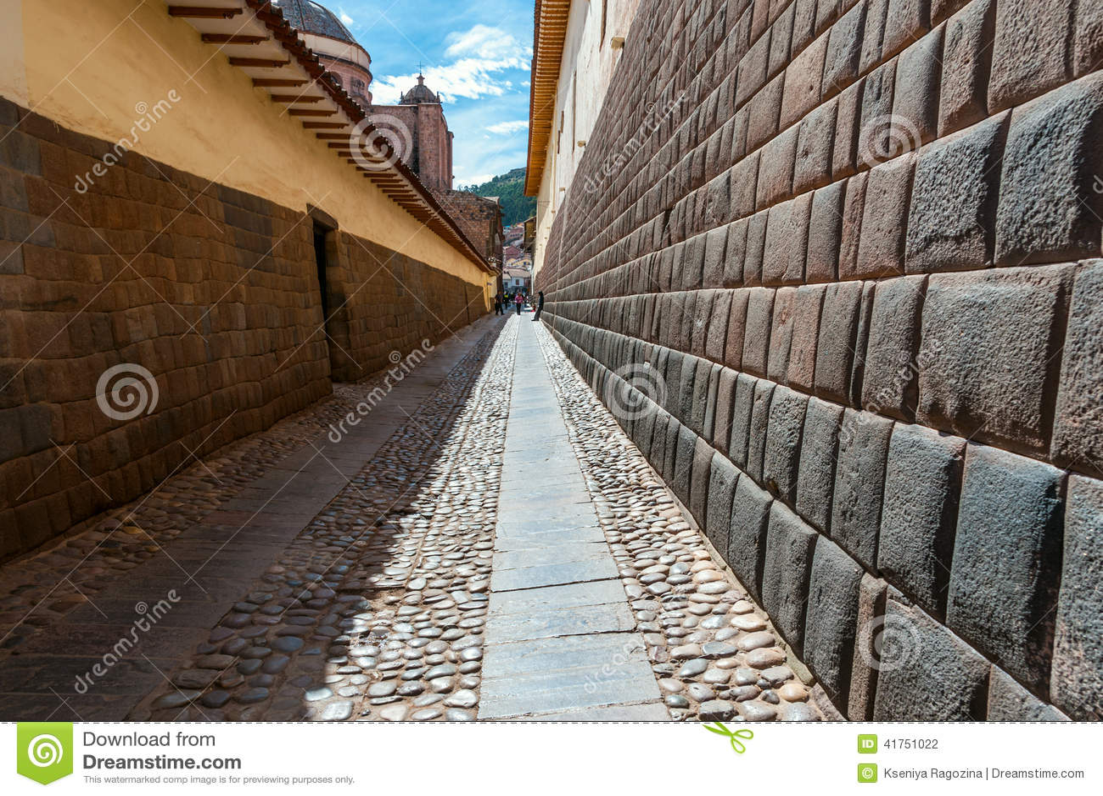 Πόλη Cuzco στο Περού