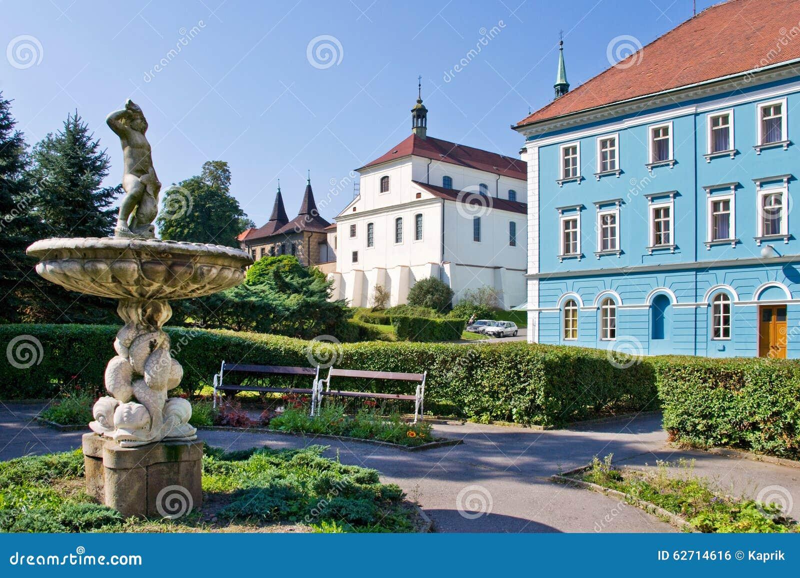 Πόλη Teplice, Βοημία, Τσεχία, Ευρώπη SPA