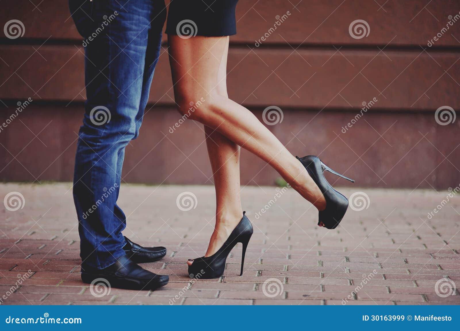 Πόδια ενός ζεύγους