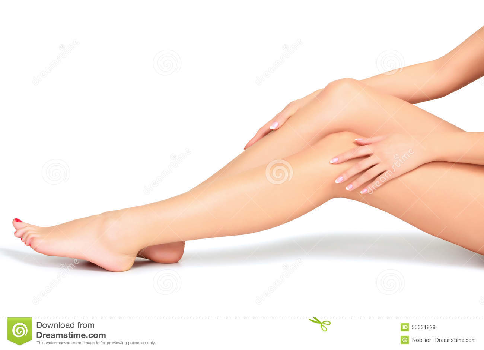 Πόδια και χέρια γυναικών