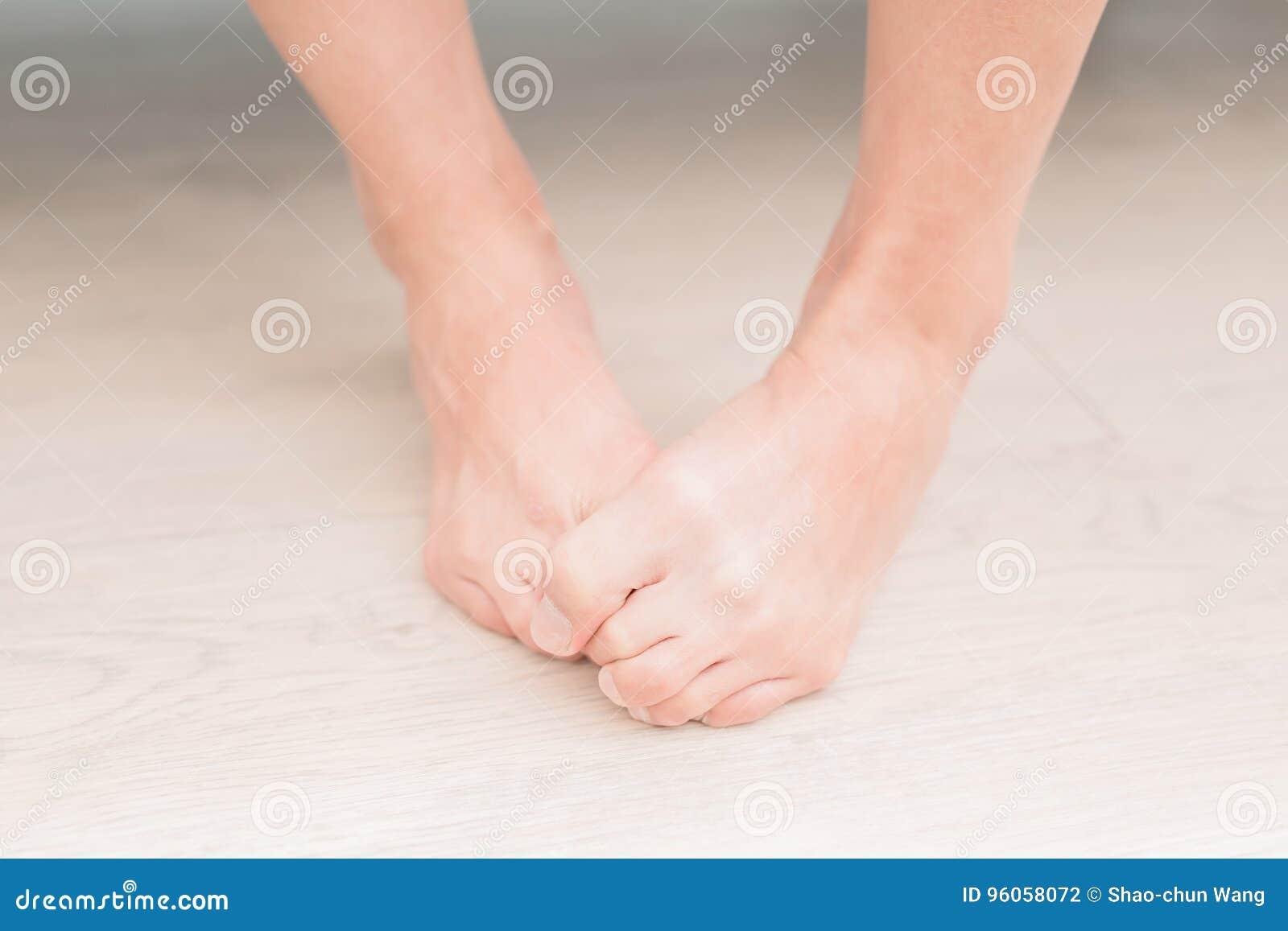 Πόδι αθλητών γυναικών