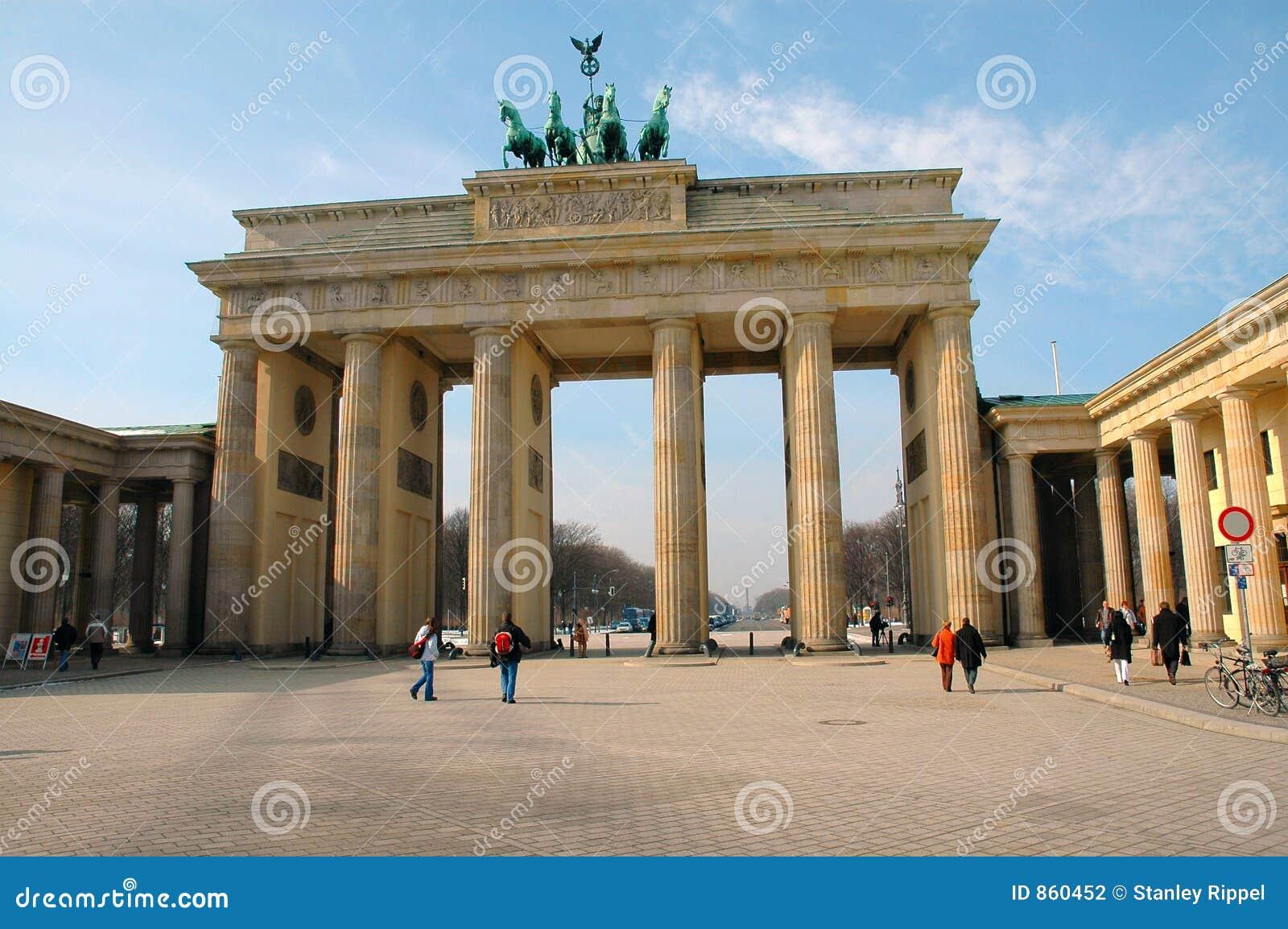 πύλη Γερμανία του Βερολίνου Βραδεμβούργο