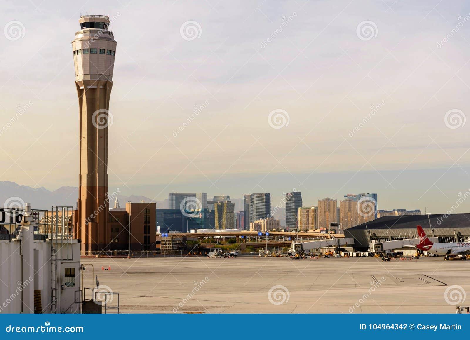 Πύργος ελέγχου στο διεθνή αερολιμένα McCarran