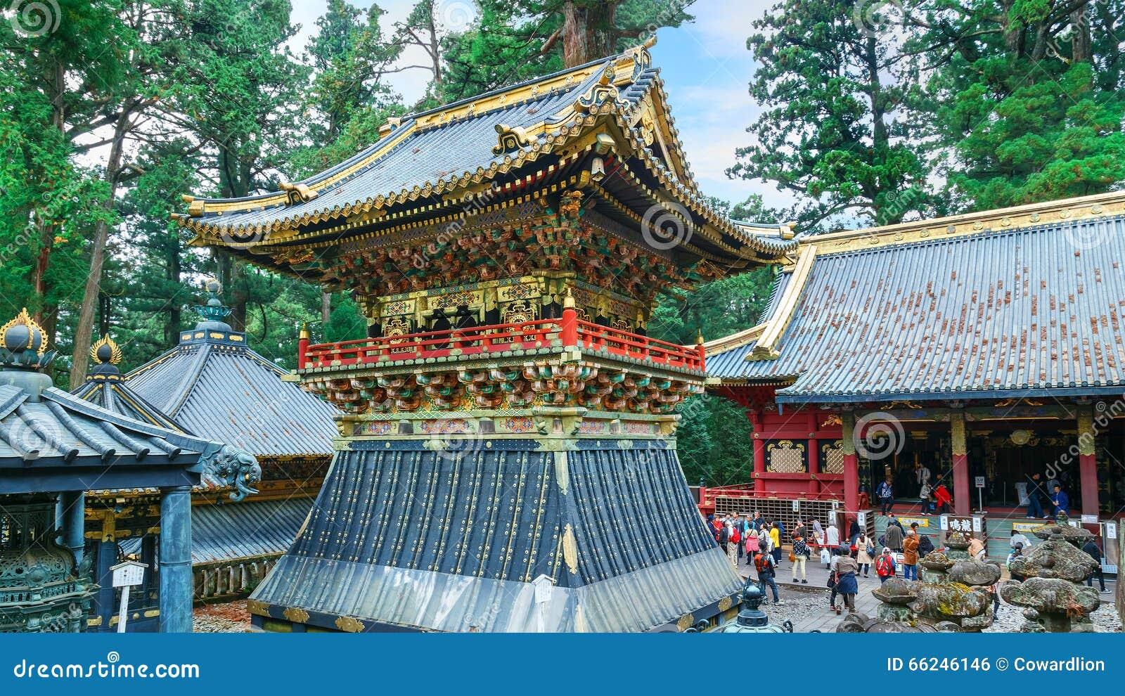 Πύργος τυμπάνων (Koro) στη λάρνακα Tosho-tosho-gu σε Nikko, Ιαπωνία