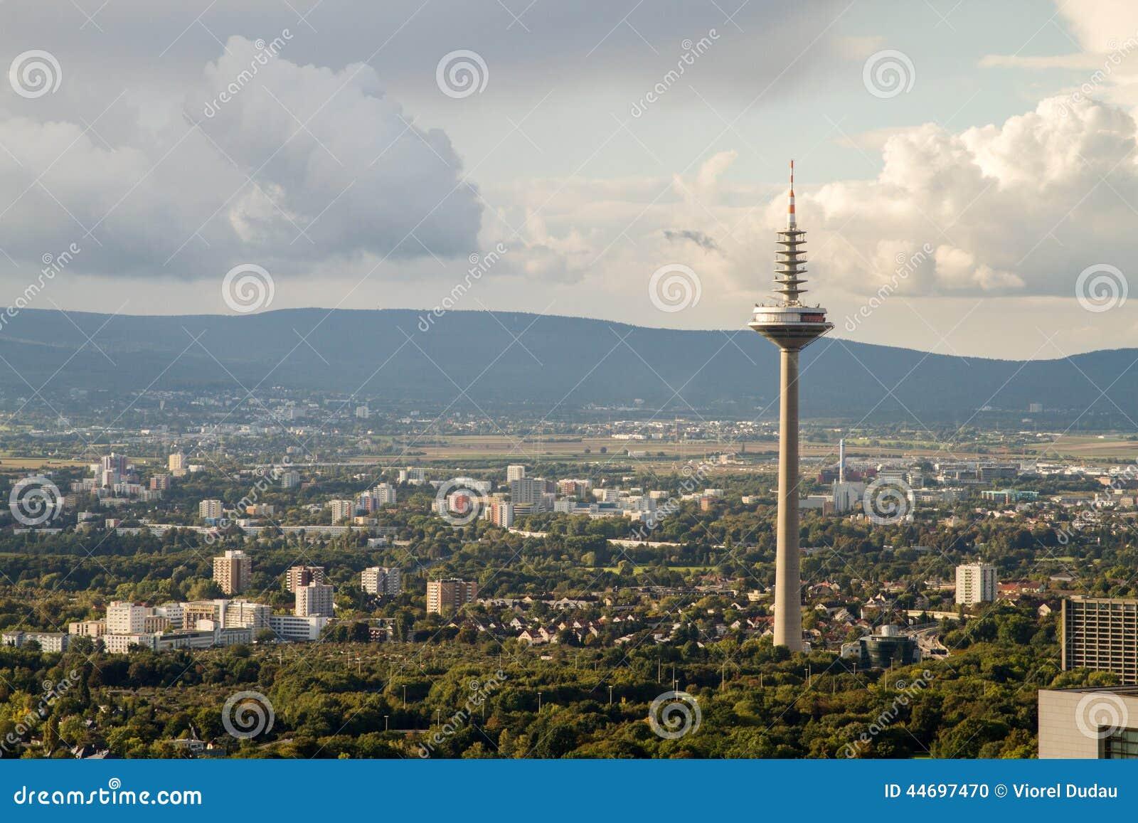 Πύργος Europaturm TV της Φρανκφούρτης