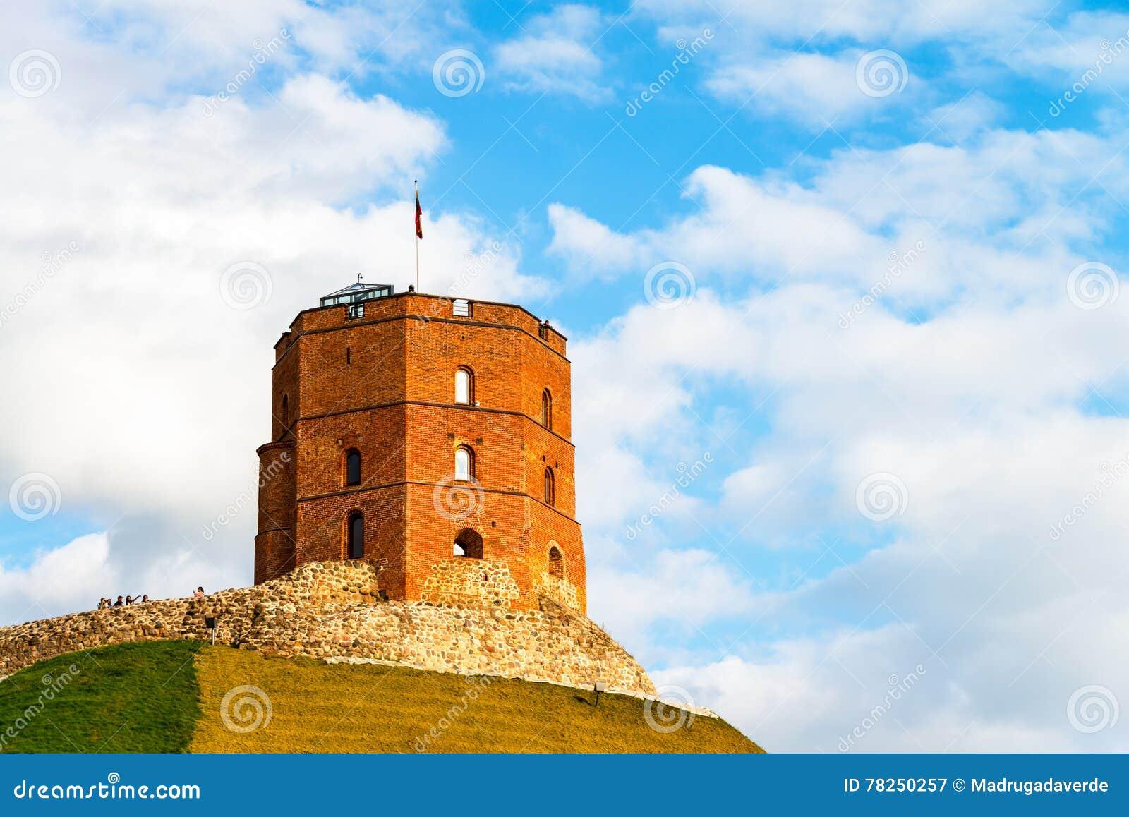 Πύργος Gediminas σε Vilnius, Λιθουανία