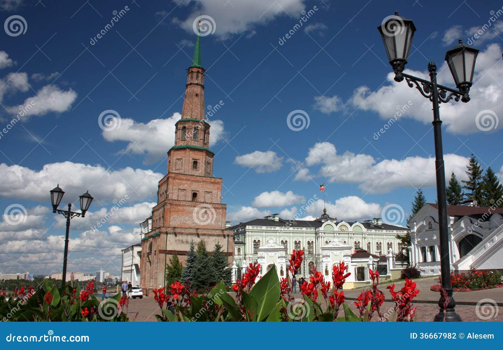 Πύργος Suyumbike Kazan Κρεμλίνο. Ρωσία