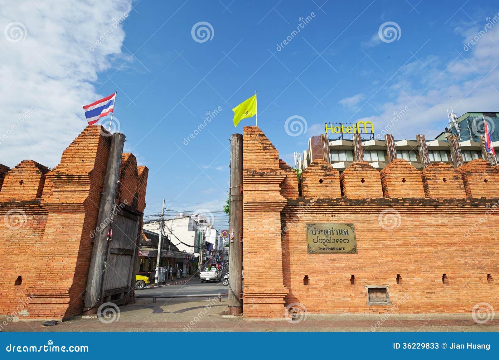 Πύλη Thapae Chiang Mai στην Ταϊλάνδη