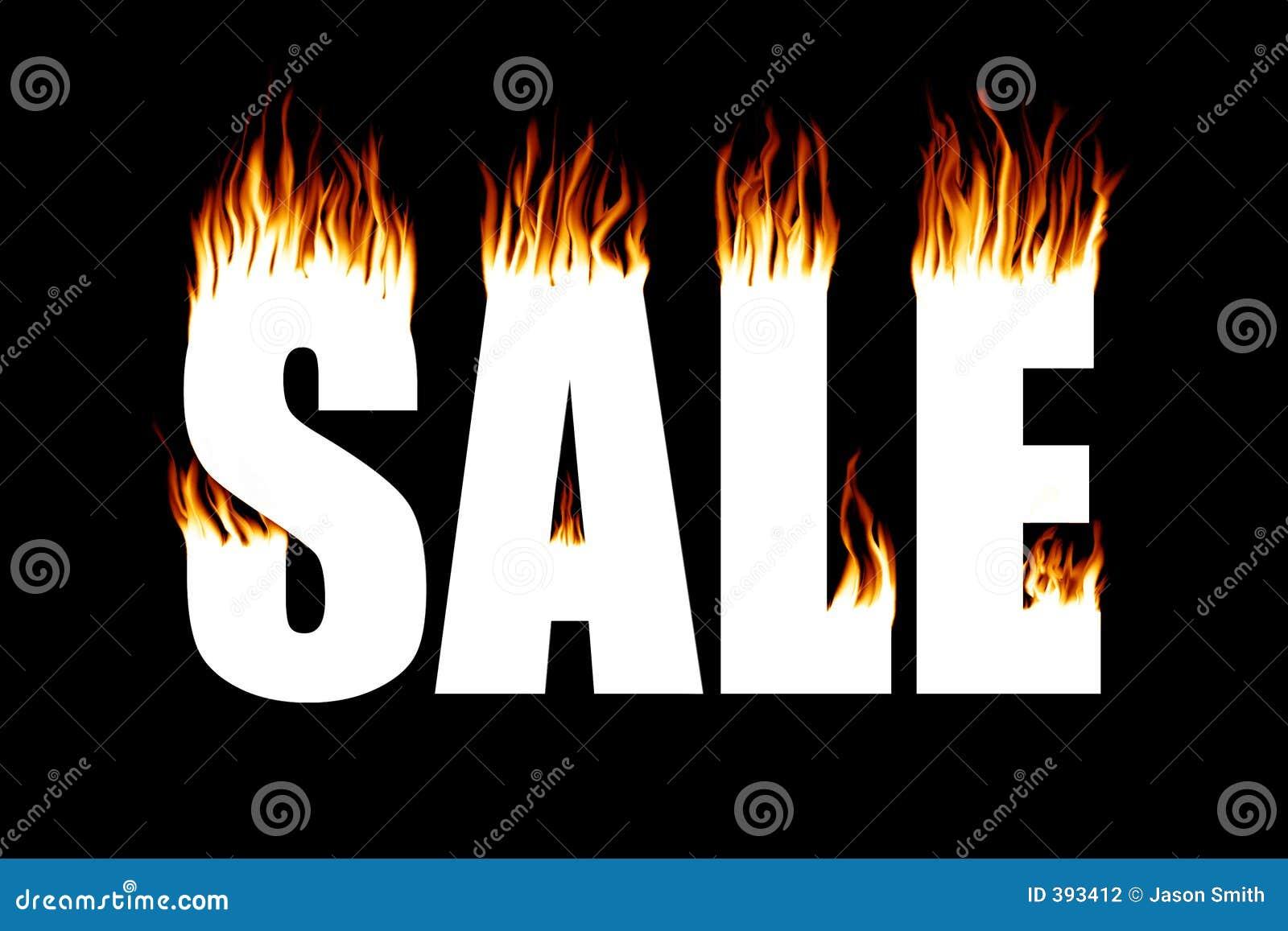 πώληση πυρκαγιάς