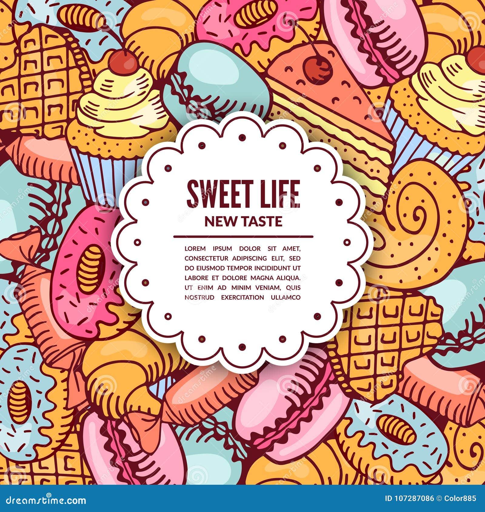 Πώληση των επιδορπίων βιομηχανιών ζαχαρωδών προϊόντων