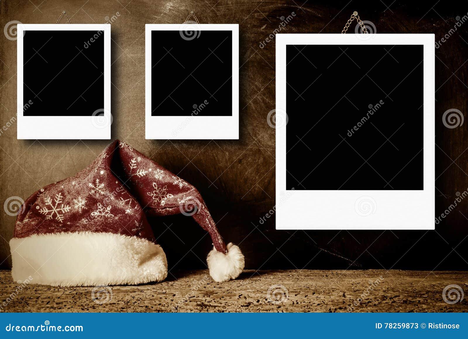 Πλαίσια φωτογραφιών Χριστουγέννων για τρεις φωτογραφίες