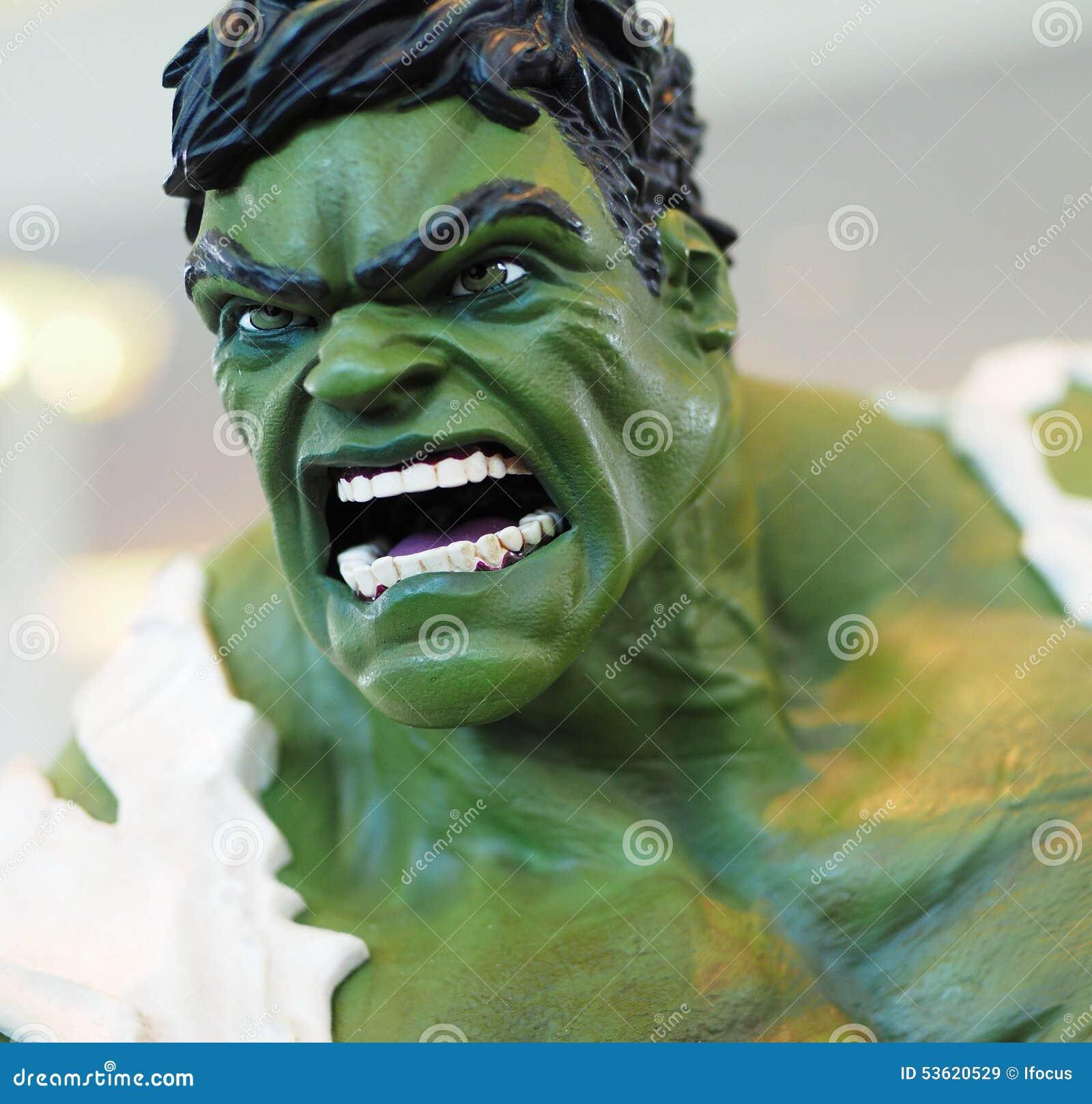 Πλασματικό Hulk superhero χαρακτήρα