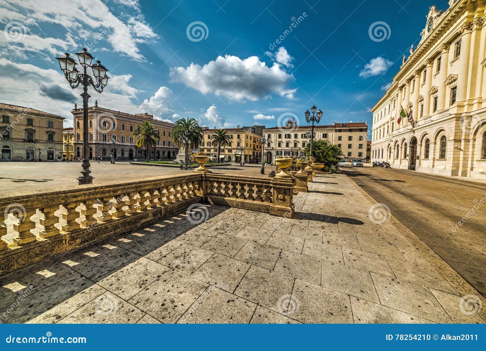 Πλατεία d& x27 Ιταλία σε Sassari