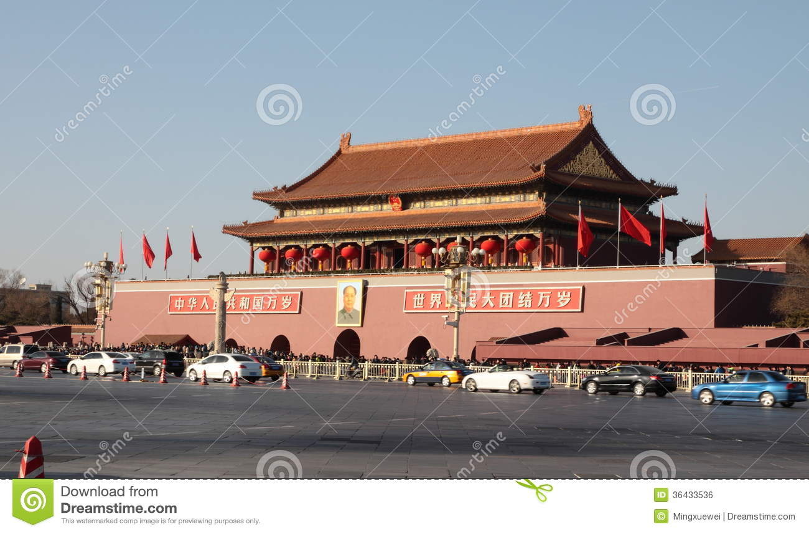 Πλατεία Tiananmen του Πεκίνου