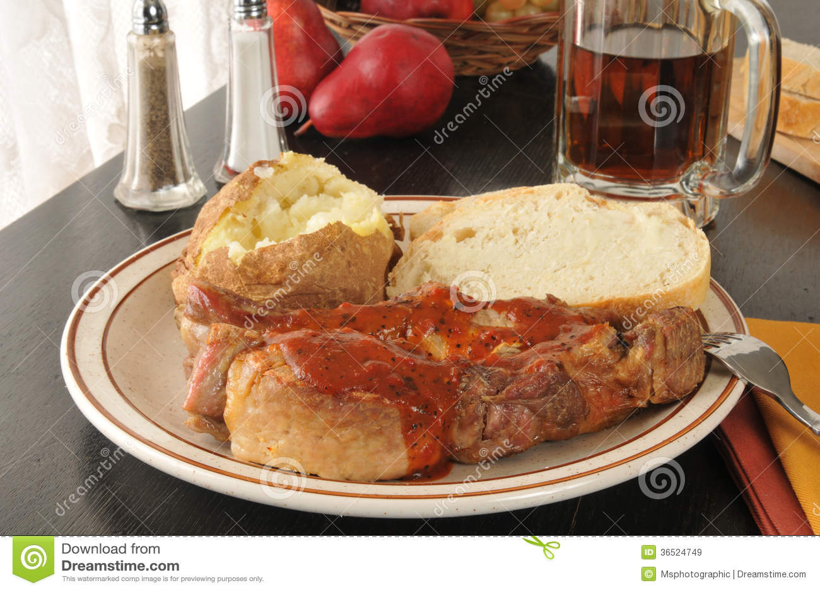 Πλευρά χοιρινού κρέατος