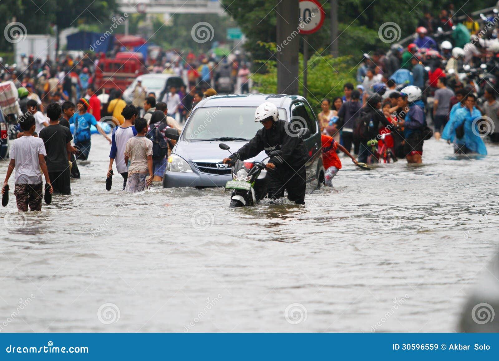 Πλημμύρα της Τζακάρτα