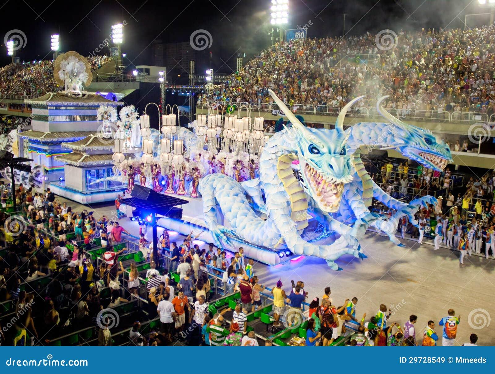 ΡΊΟ ΝΤΕ ΤΖΑΝΈΙΡΟ - ΣΤΙΣ 11 ΦΕΒΡΟΥΑΡΊΟΥ: Παρουσιάστε με τις διακοσμήσεις των δράκων ο