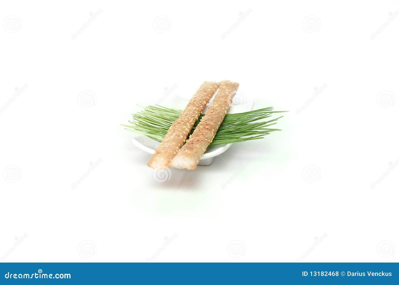 ραβδιά σουσαμιού ψωμιού