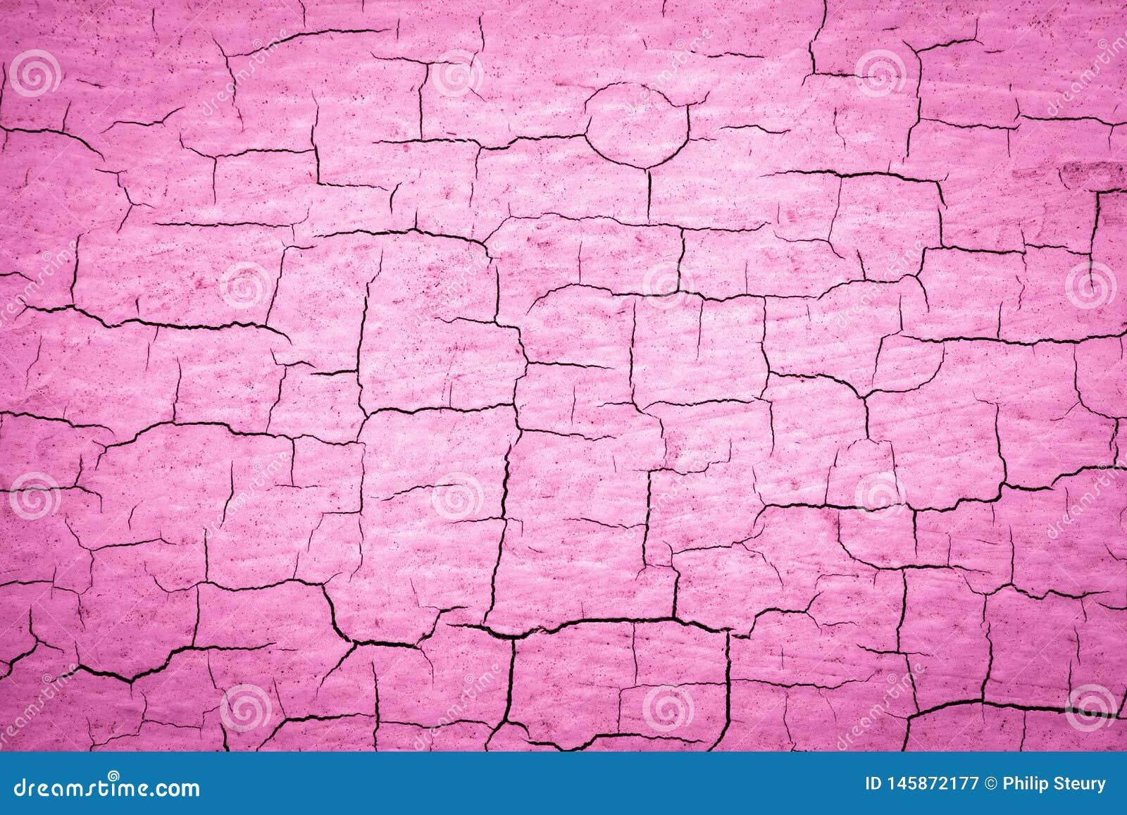 Ραγισμένο ροζ χρώμα