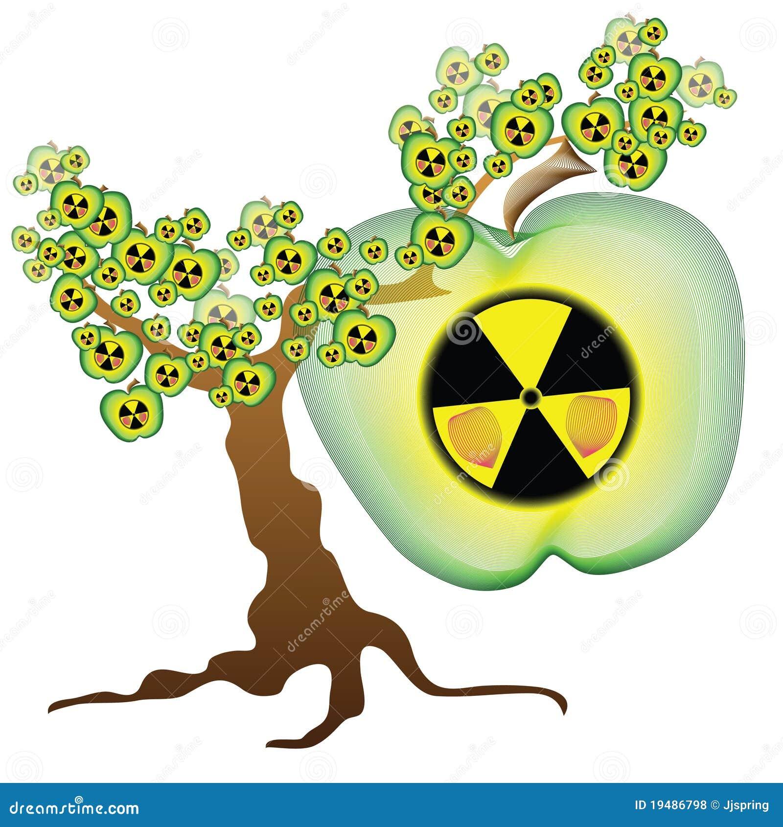 Ραδιενεργό δέντρο μηλιάς