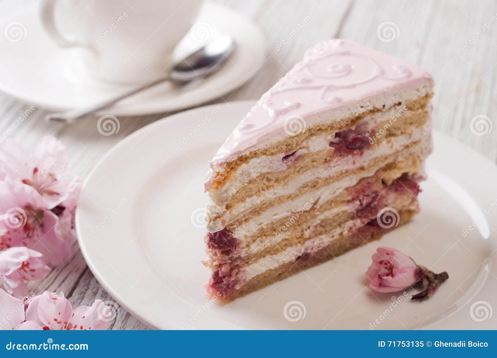 ροζ κέικ