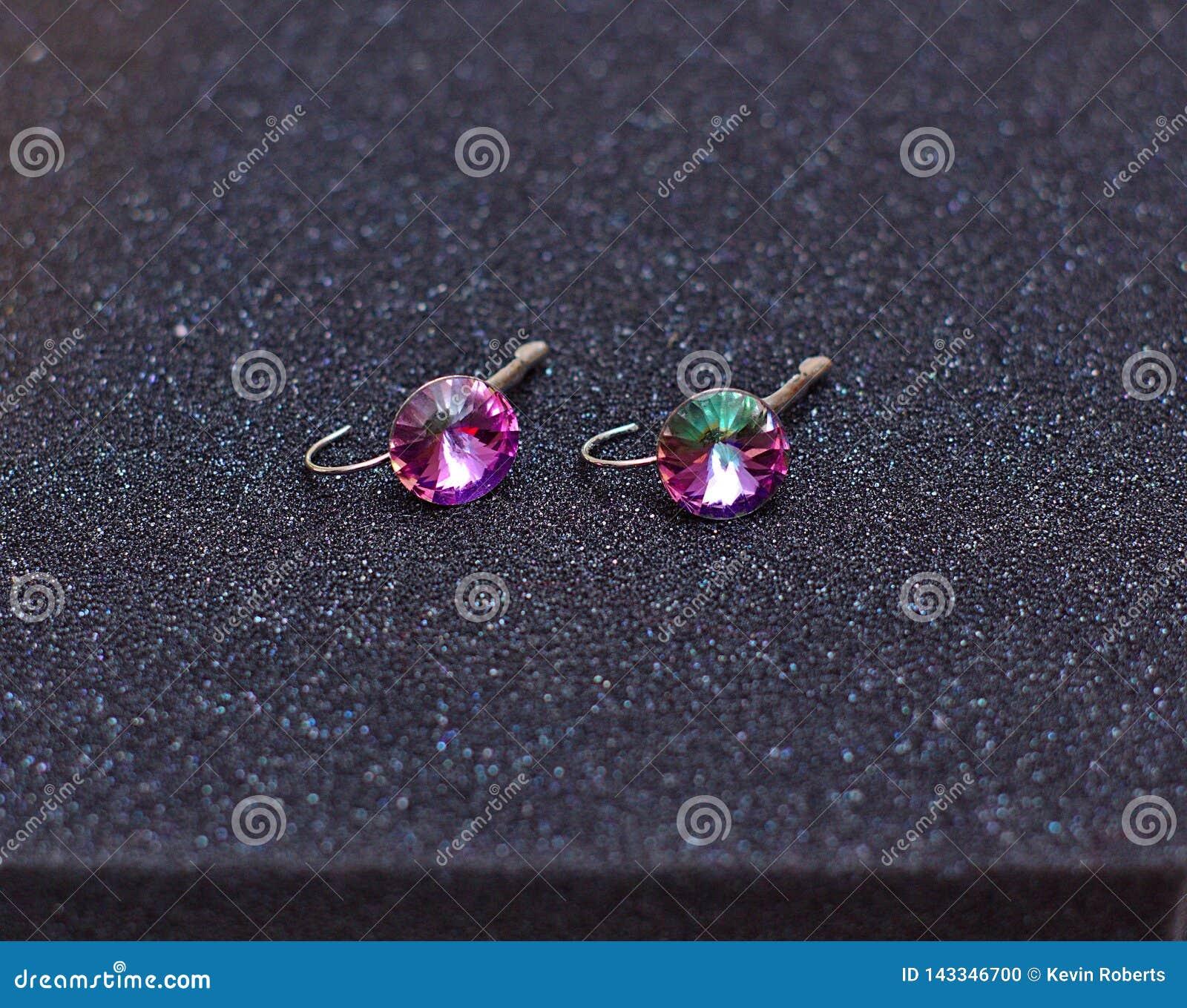 Ροζ 2445 σκουλαρικιών
